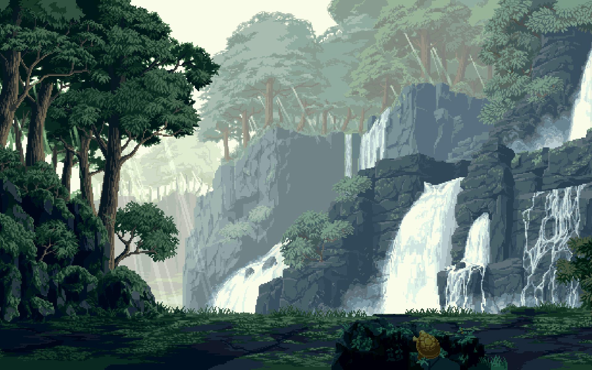 Pixel Art Wallpapers Wallpaper Cave