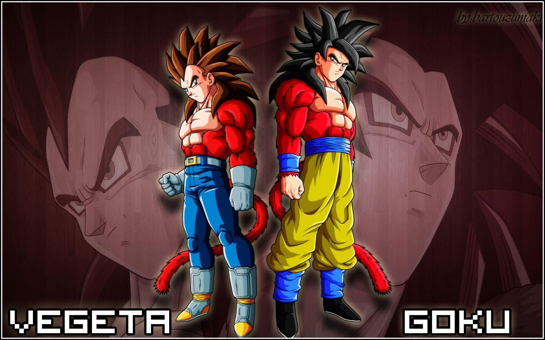 Goku Vegeta SSJ4 Wallpapers