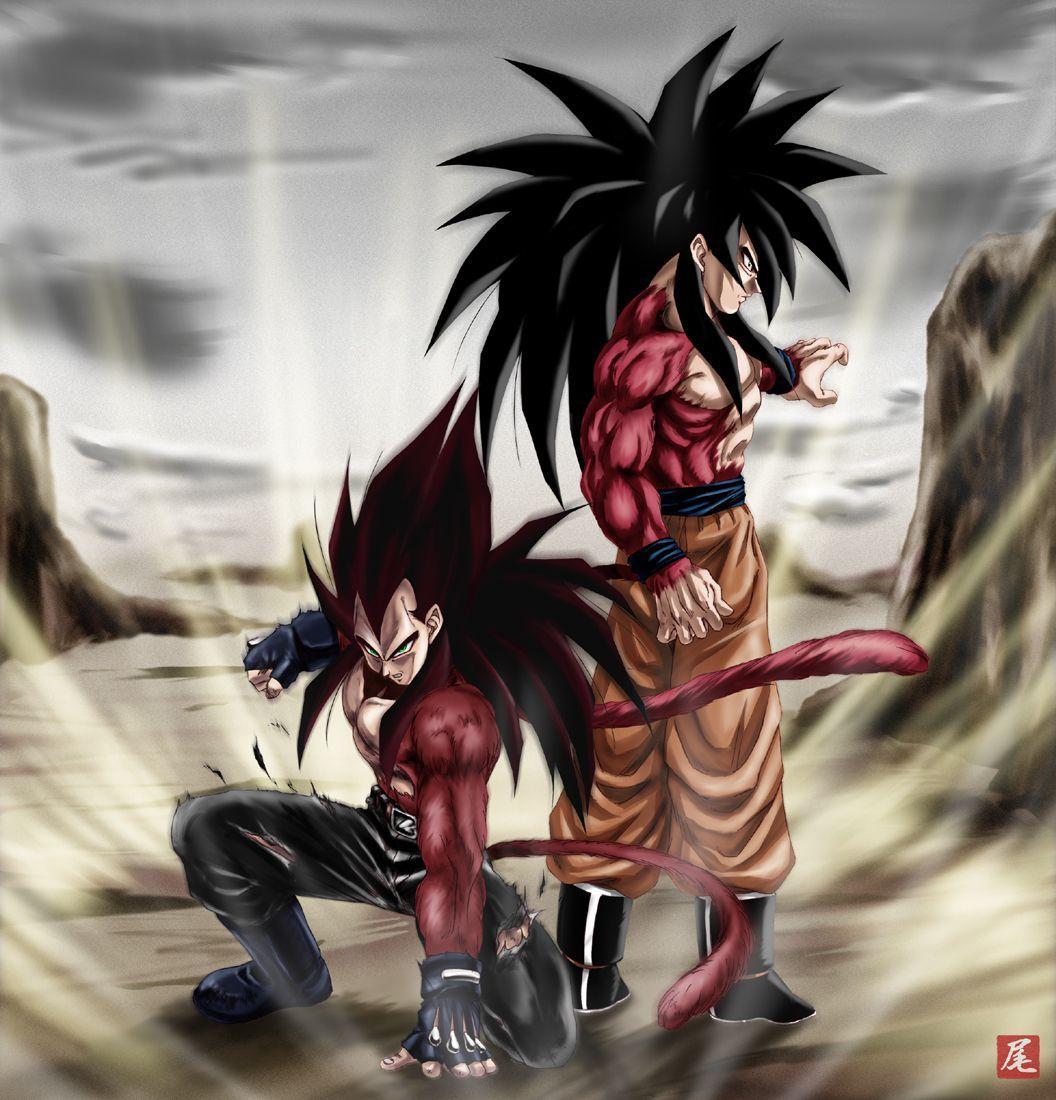 Goku vegeta ssj4 wallpapers wallpaper cave - Dbz wallpaper gogeta ...