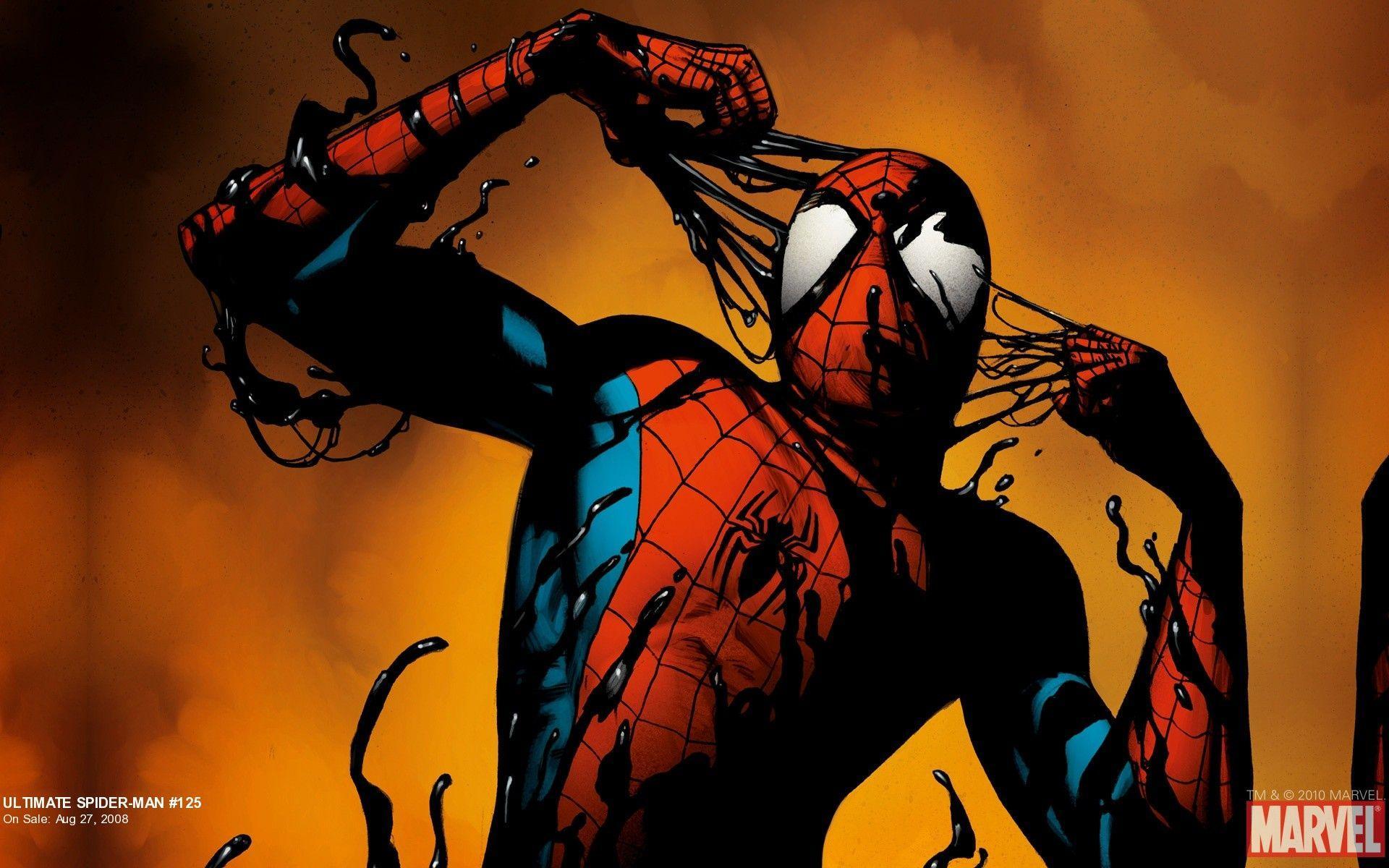 Ultimate spiderman venom wallpaper