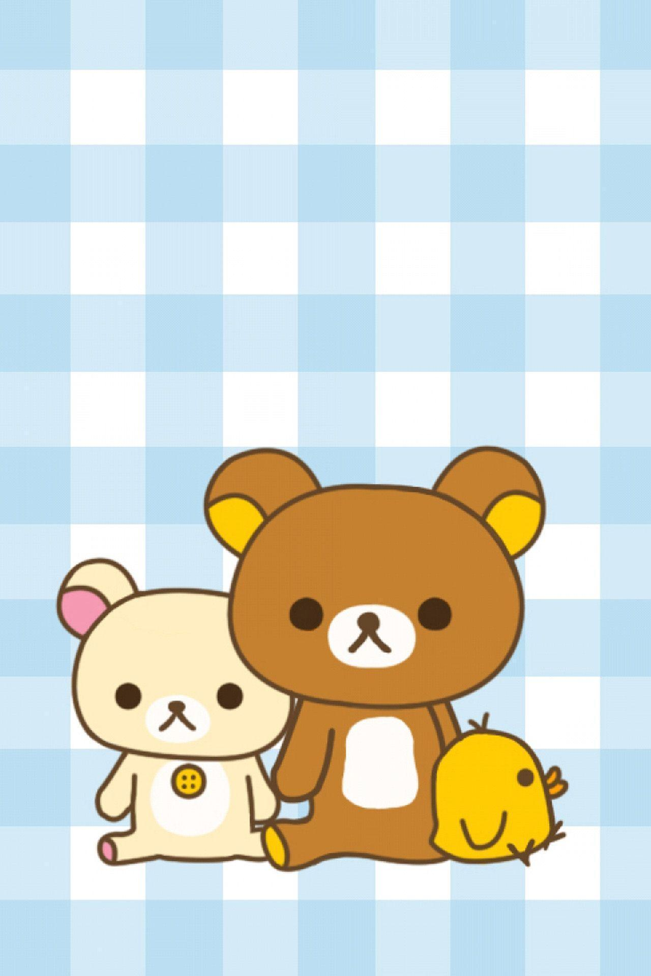 kawaii iphone wallpaper rilakkuma wallpapers wallpaper cave 9333