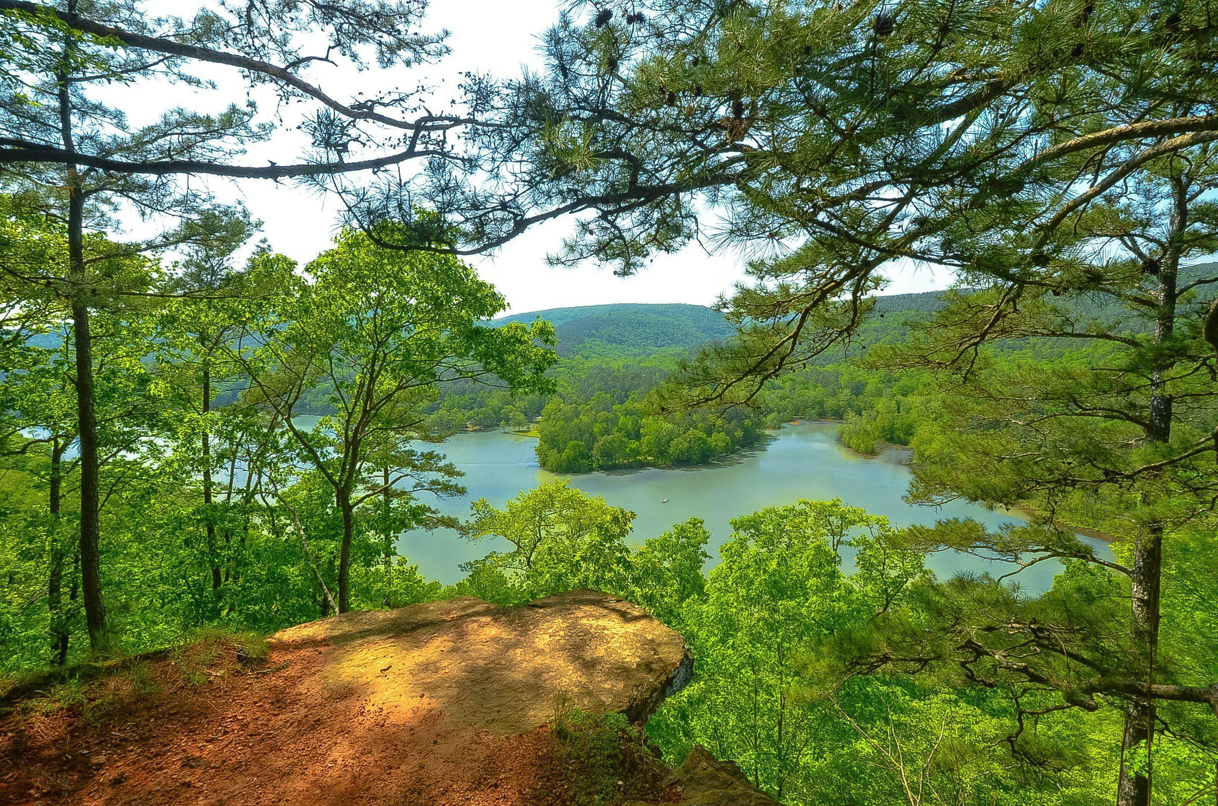 Arkansas river hills trees landscape wallpaper | 2464x1632 ...