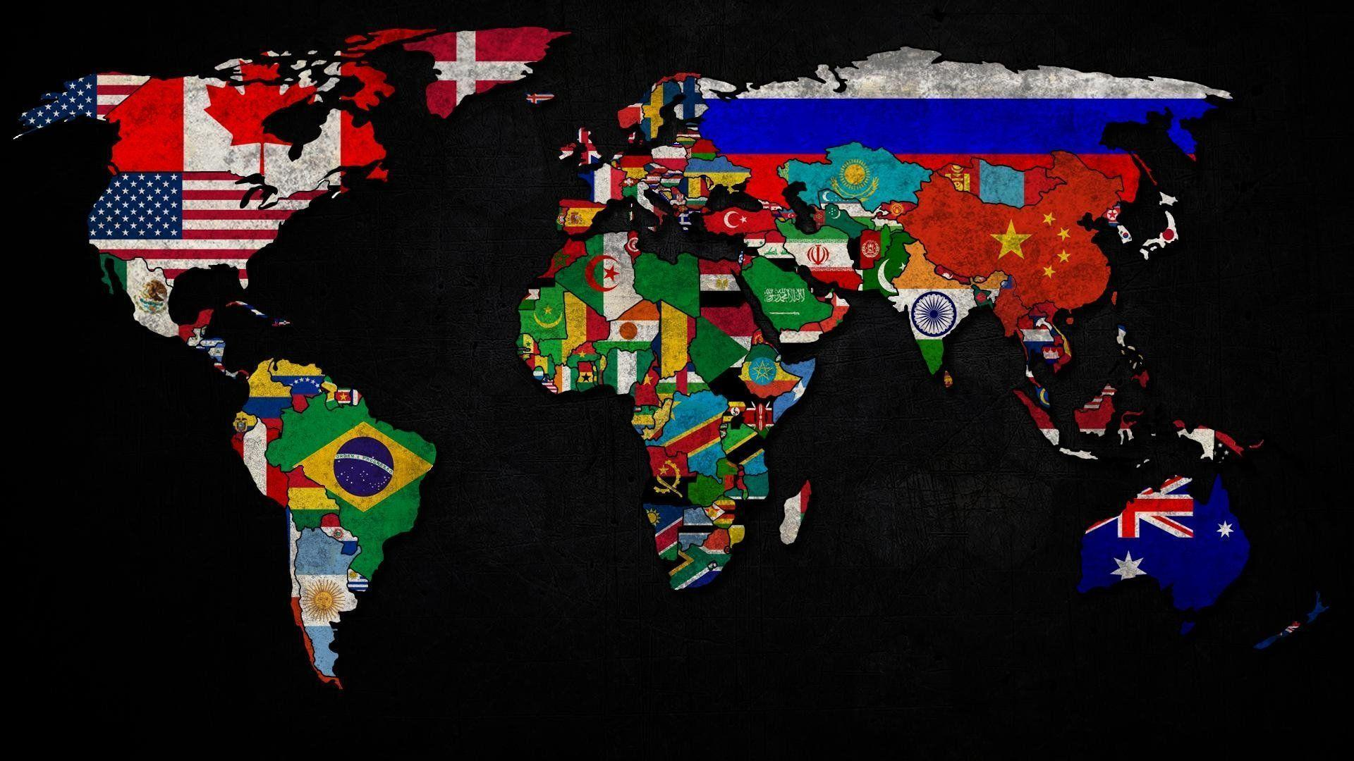 148 World Map HD Wallpapers