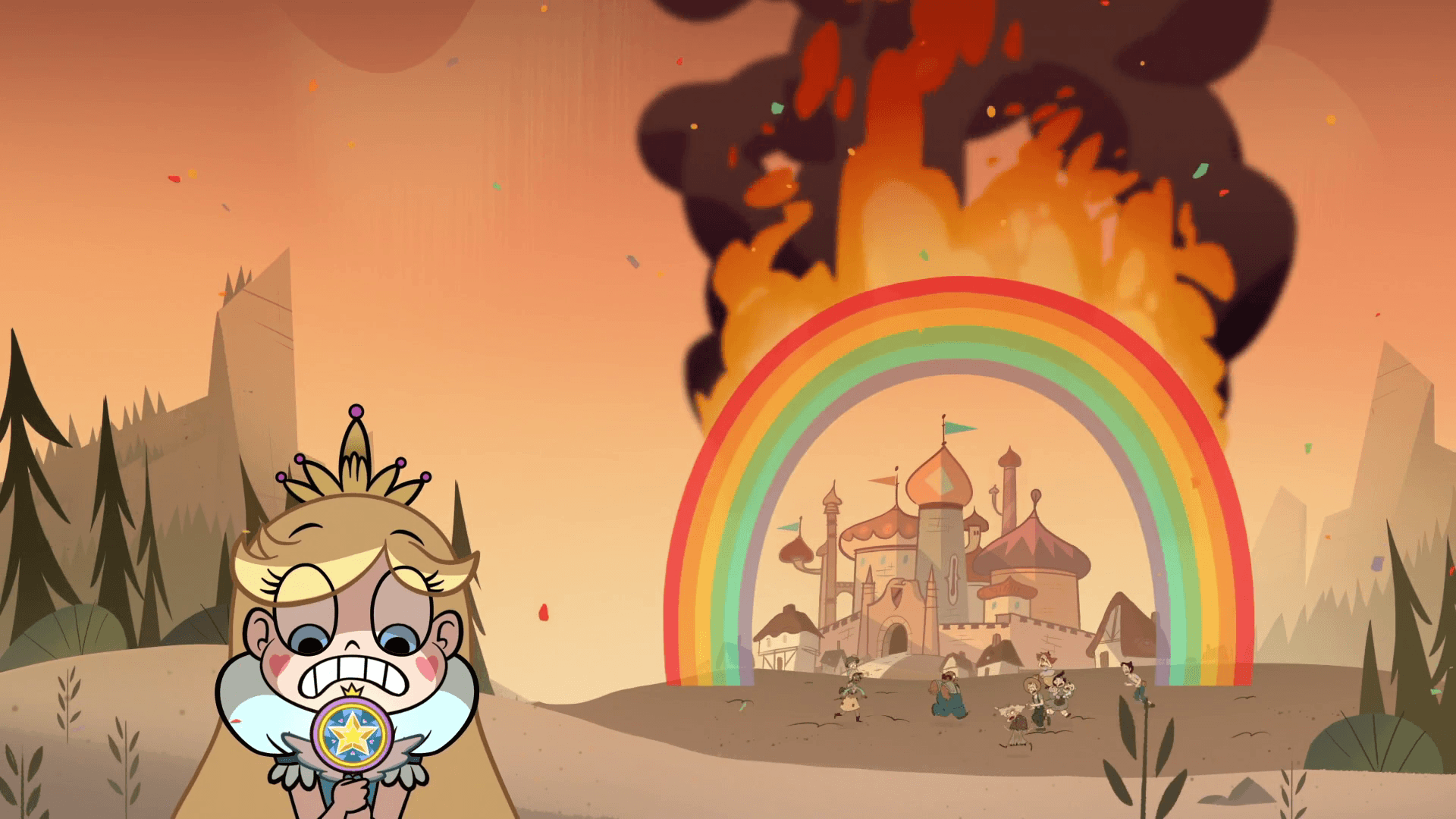 Star Vs. The Forces Of Evil Teams Background 5