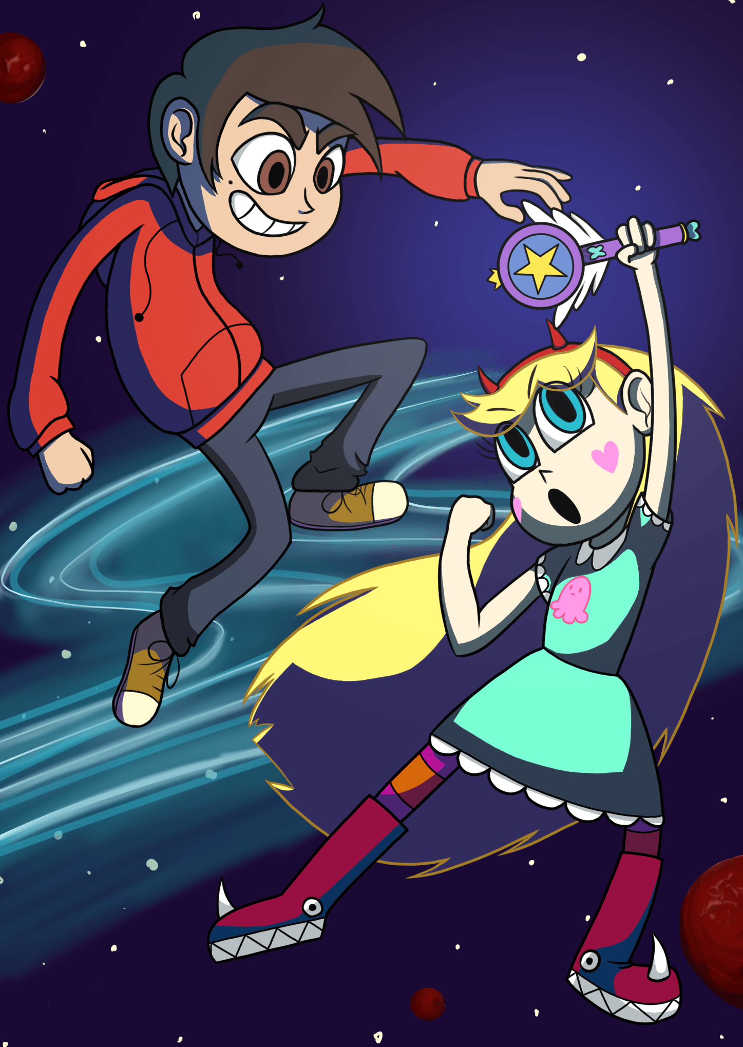 Star vs the Forces of Evil by hakutooon on DeviantArt