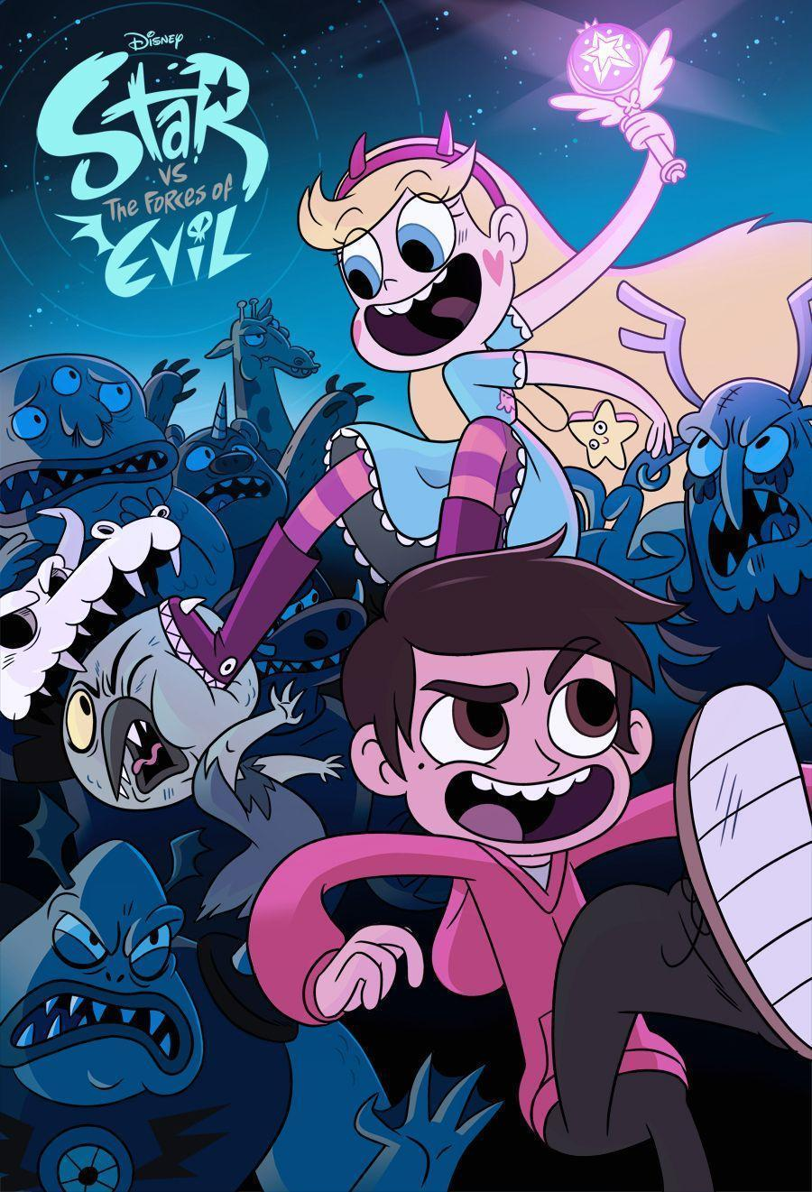 Star Vs The Forces Of Evil Wallpapers Wallpaper Cave