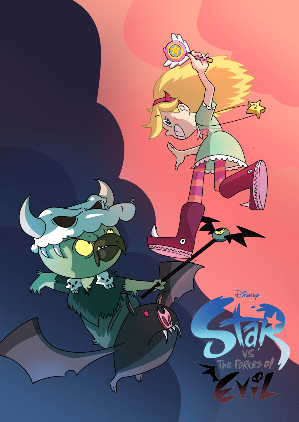 Star vs the forces of evil henti