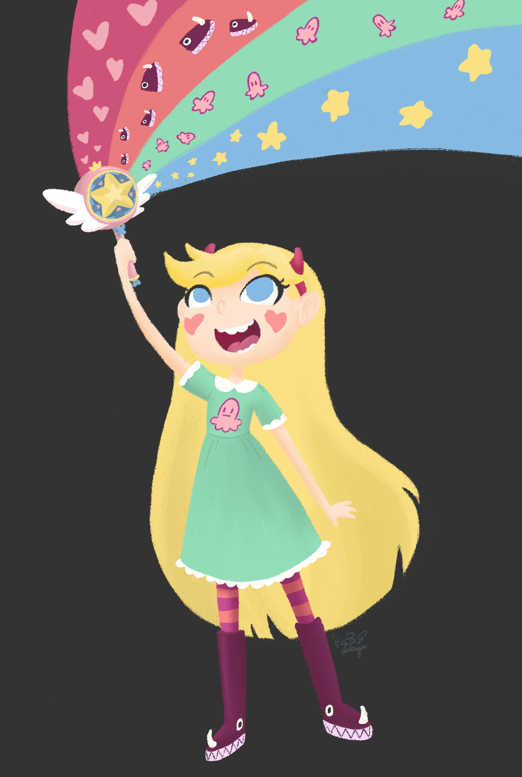 Star vs. the Forces of Evil Logo by Star-Butterfly on DeviantArt