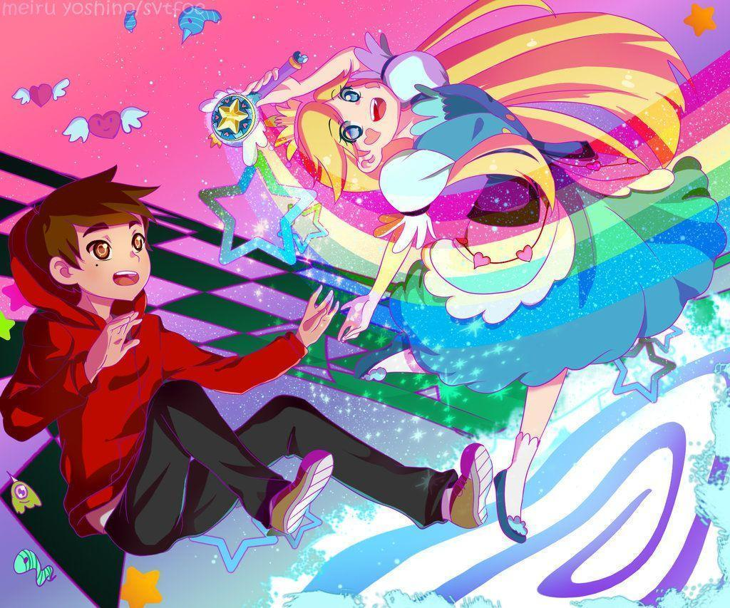 star vs the forces of evil anime