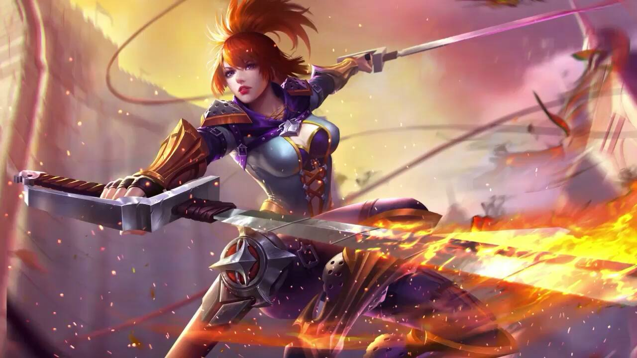Hd wallpaper mobile legends - Mobile Legends Freya