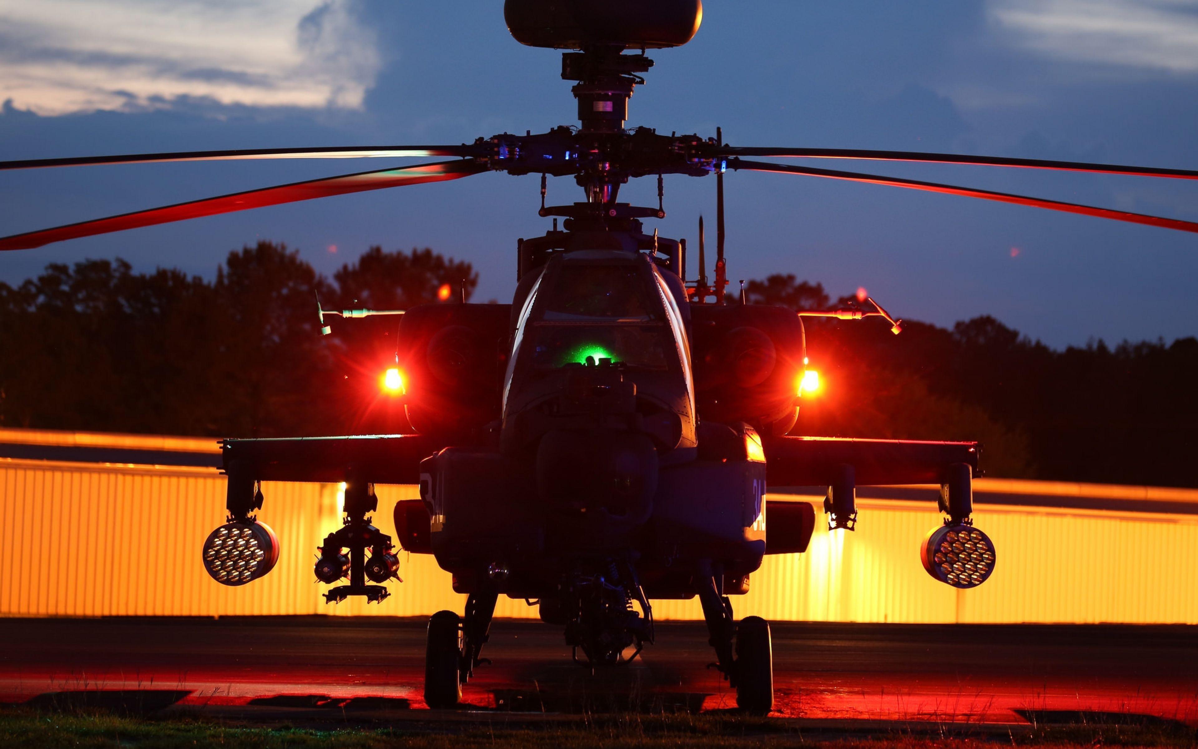 Military Helicopter 4k Hd Desktop Wallpaper For 4k Ultra: Boeing AH-64 Apache Wallpapers