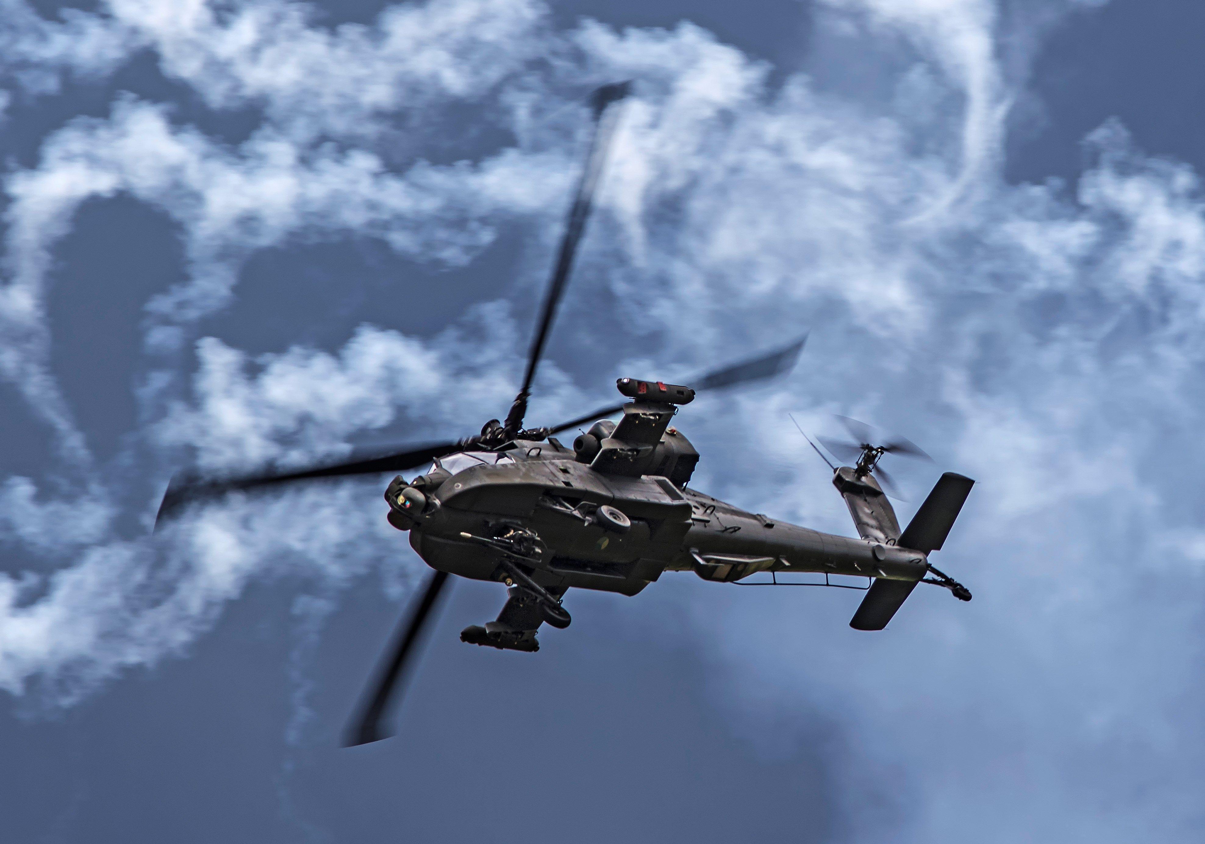 Apache Helicopter Wallpaper Desktop: Boeing AH-64 Apache Wallpapers
