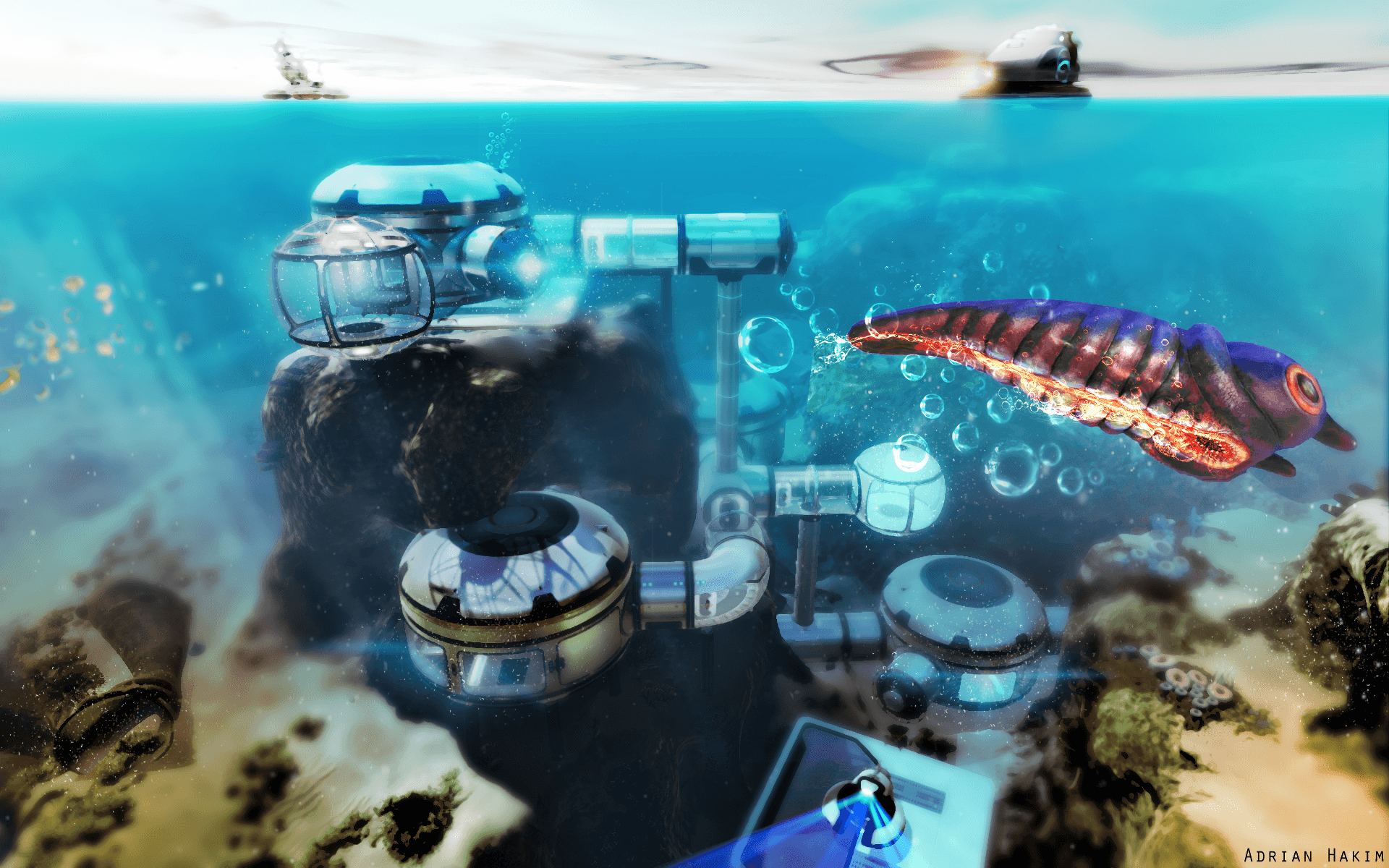 14 Subnautica HD Wallpapers
