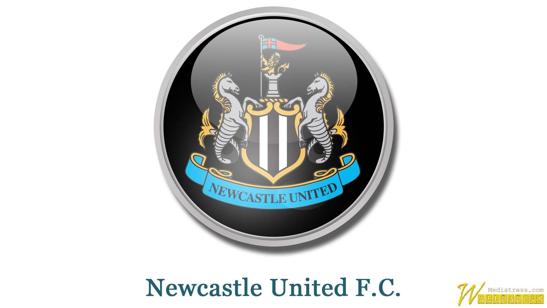 Newcastle United F.C. Logo Wallpaper | MT-WallPapers
