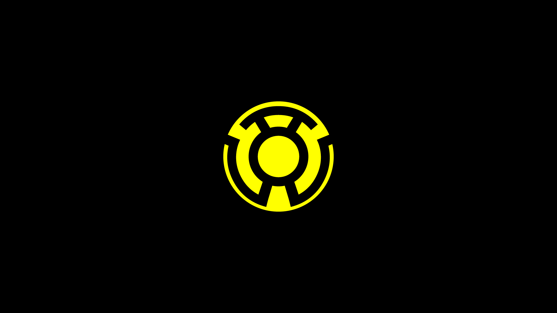 yellow lantern logo - HD 1920×1080