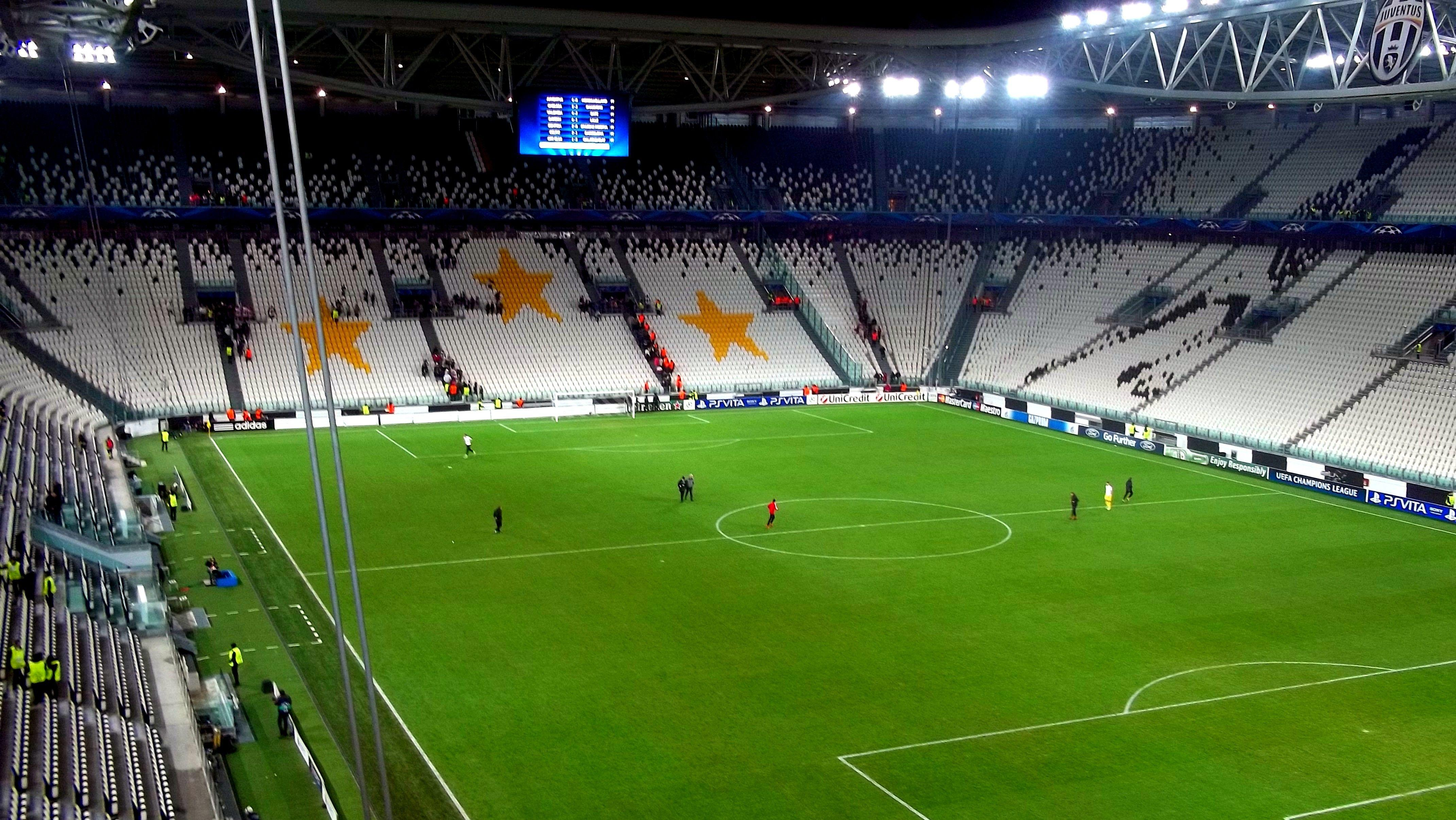 soccer, arena, stadium, Champions League, Juventus, Turin :: Wallpapers