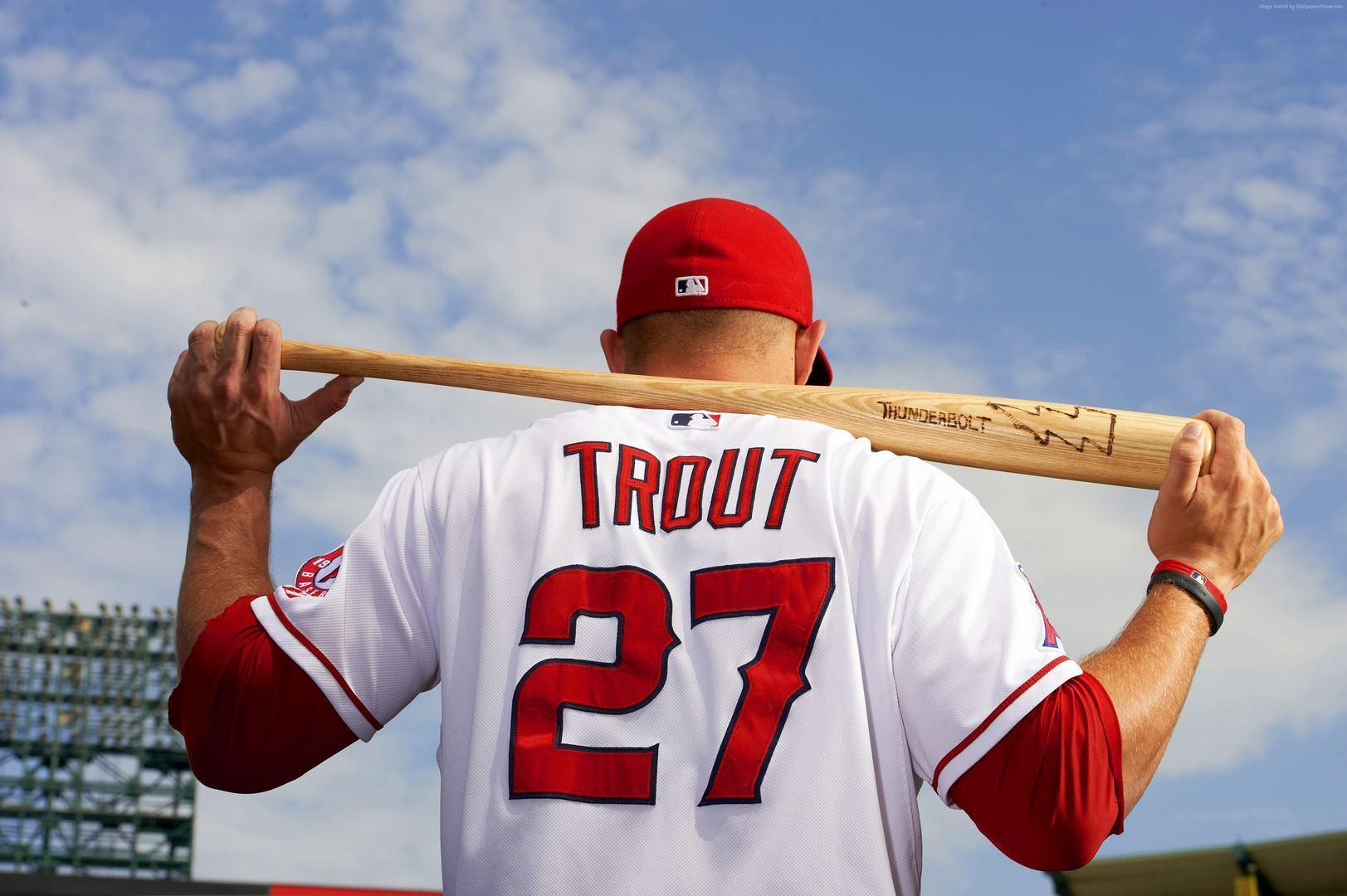 Mike Trout wallpapers hd free download