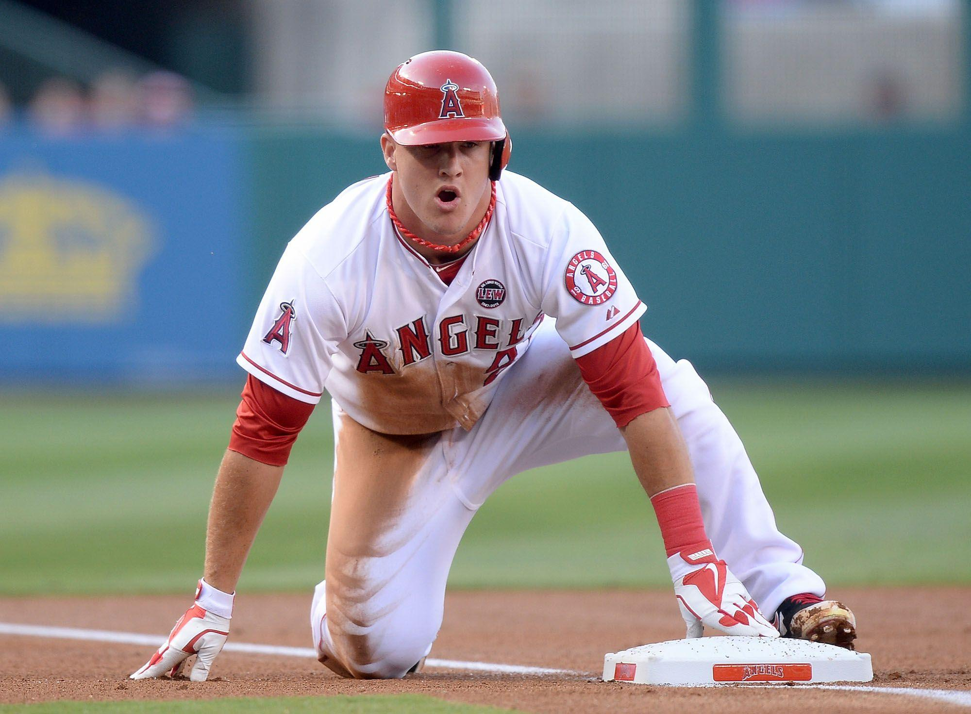 mike trout wallpapers wallpaper cave
