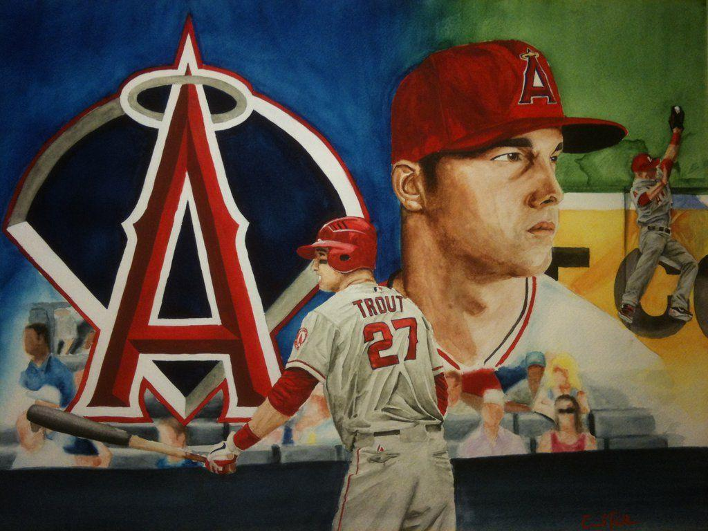 Cool Mike Trout Wallpapers