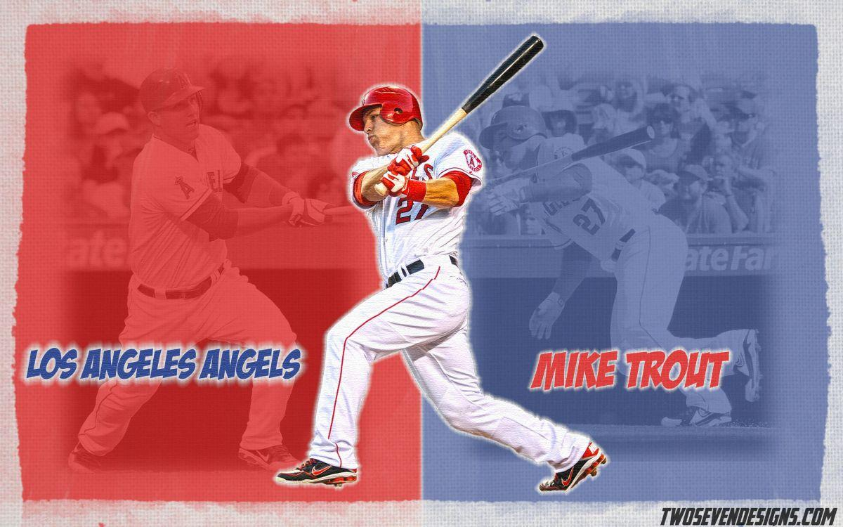 NEW Mike Trout and Clayton Kershaw Wallpapers