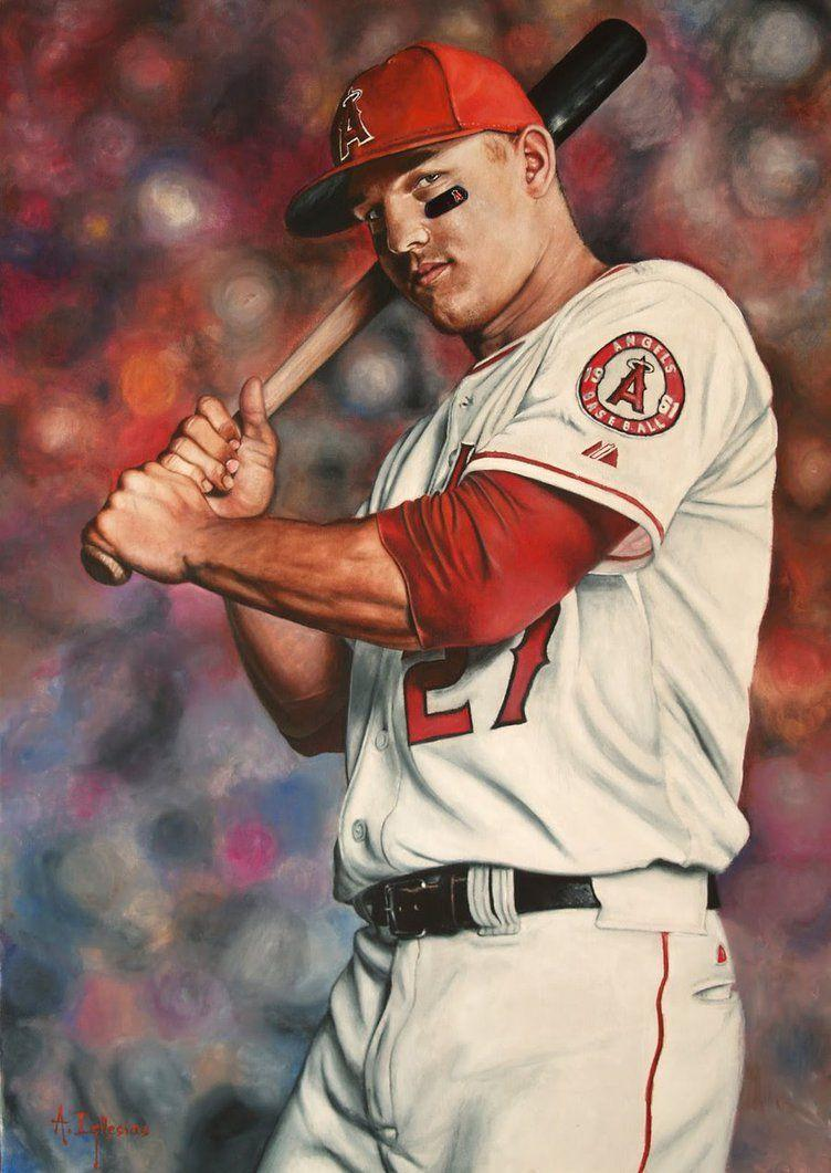 Mike Trout by agusgusart
