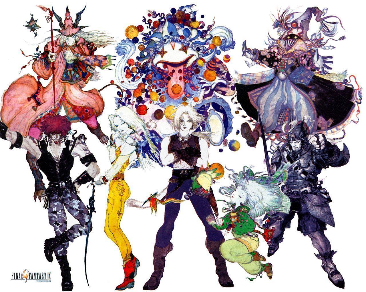 Final Fantasy Ix Wallpaper: Final Fantasy IX Wallpapers
