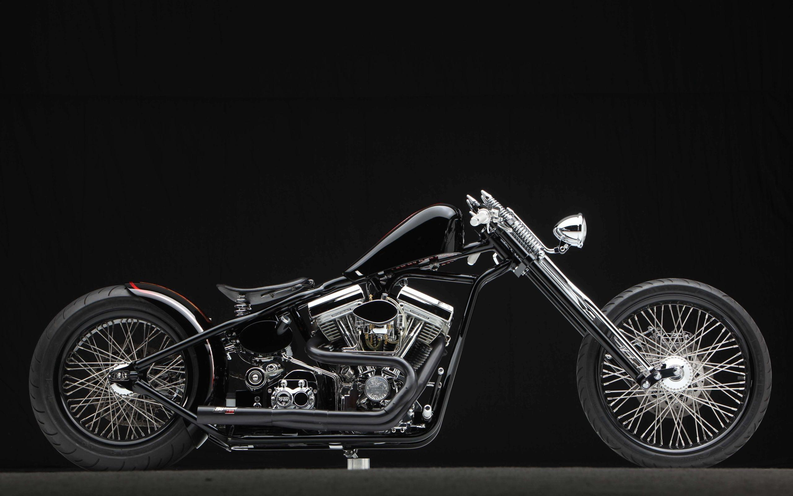 3259 V Nappes Papier Peint-MOTO Harley Davidson Chopper Bike Wallpaper Design