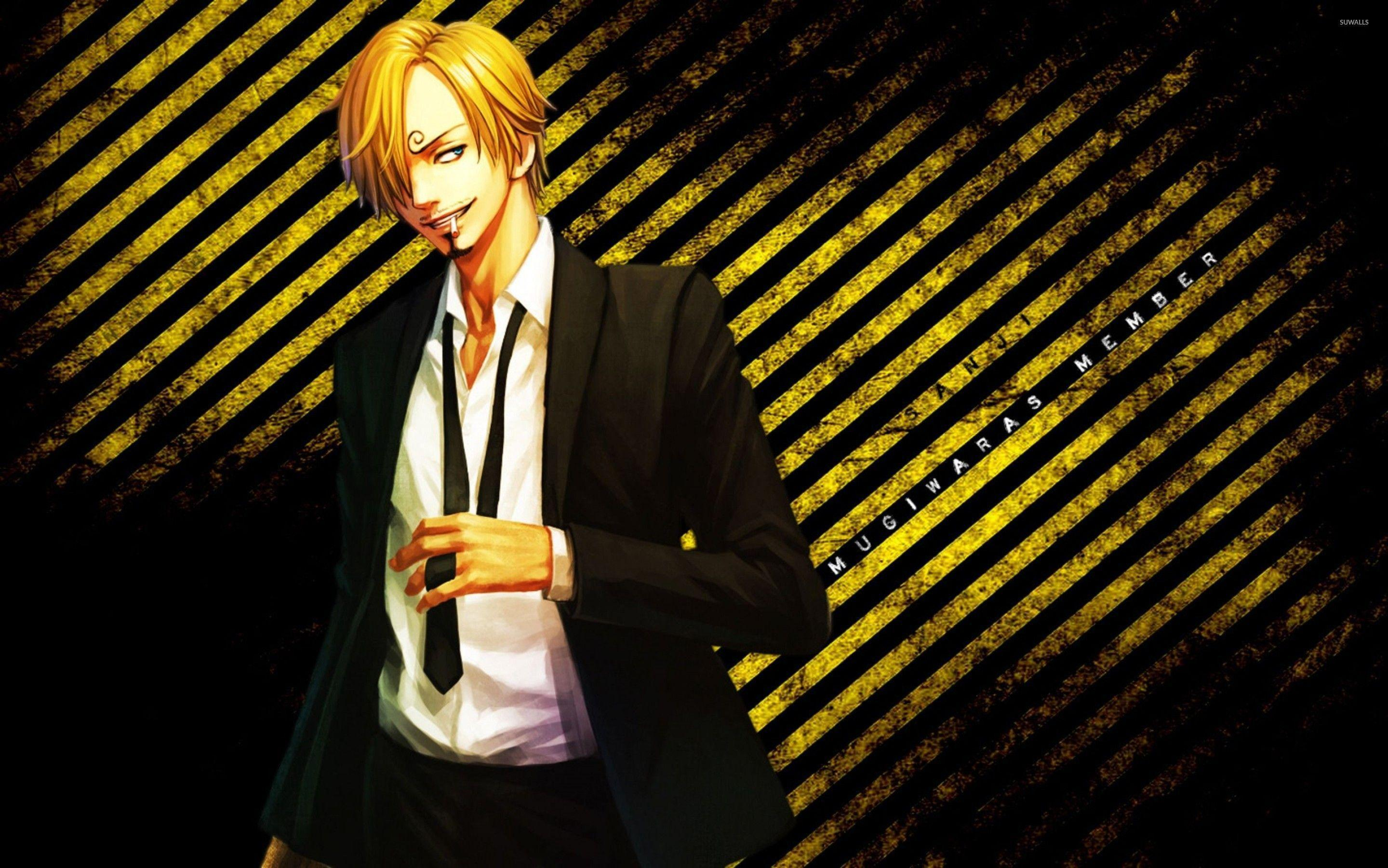 One Piece Sanji Wallpapers Wallpaper Cave