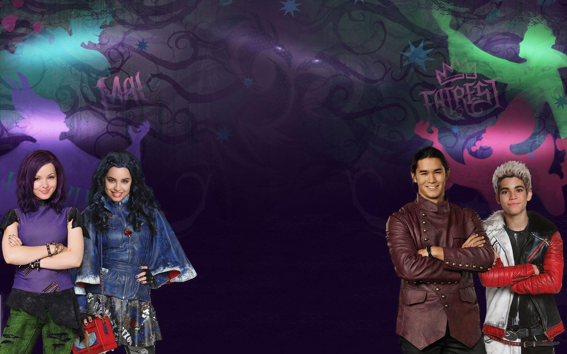 Disney Descendants Wallpaper - WallpaperSafari | dependents party ...