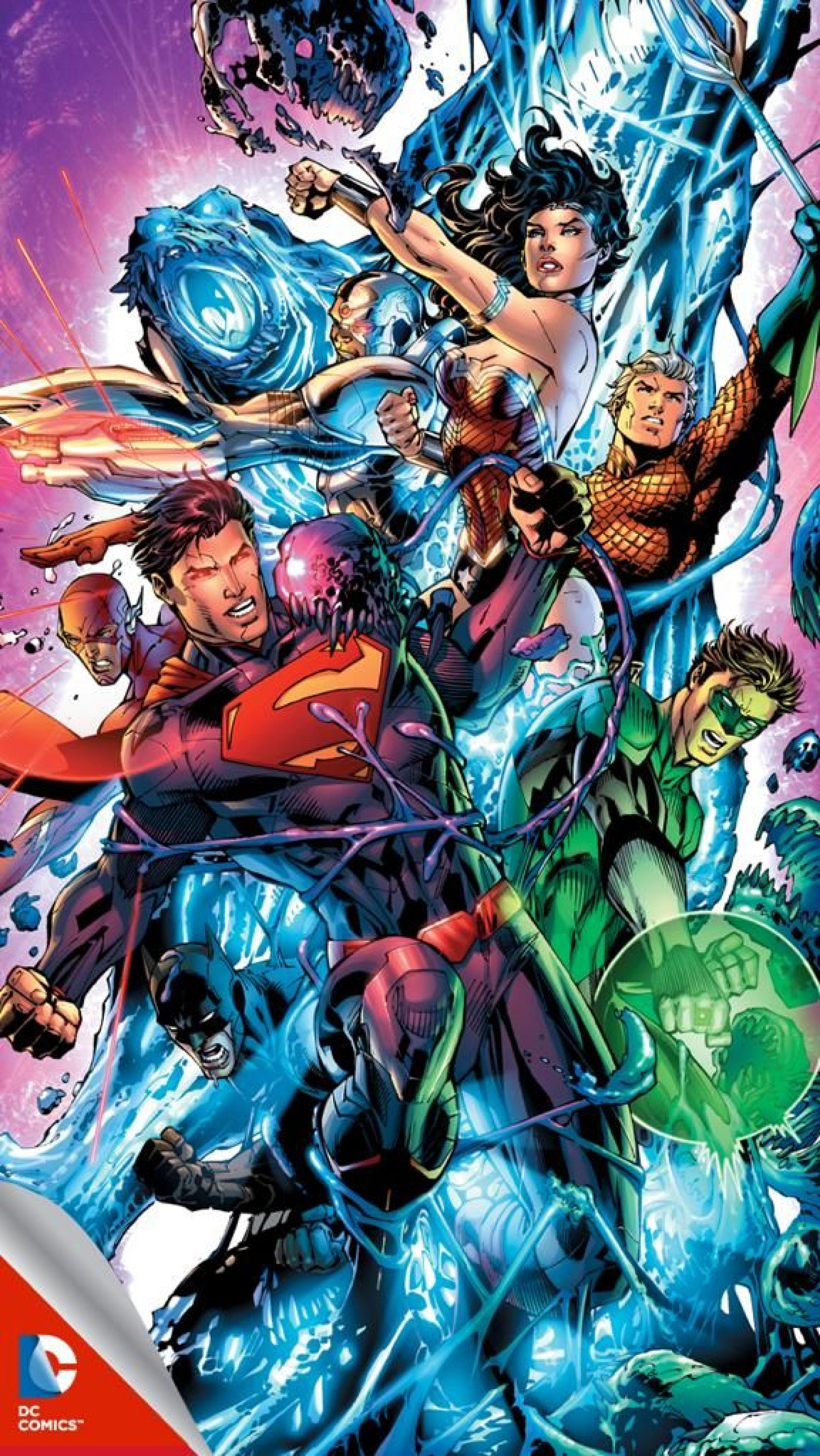 Dc superheroes wallpapers wallpaper cave - Dc characters wallpaper hd ...