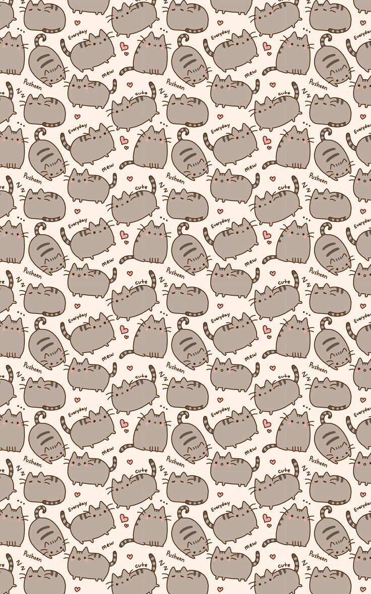 Pusheen The Cat Wallpapers Wallpaper Cave
