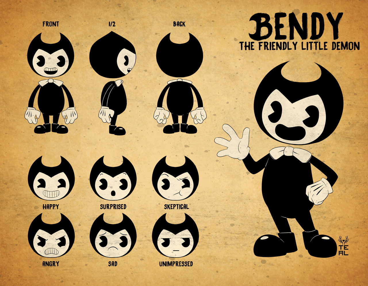 Bendy And The Ink Machine Wallpapers