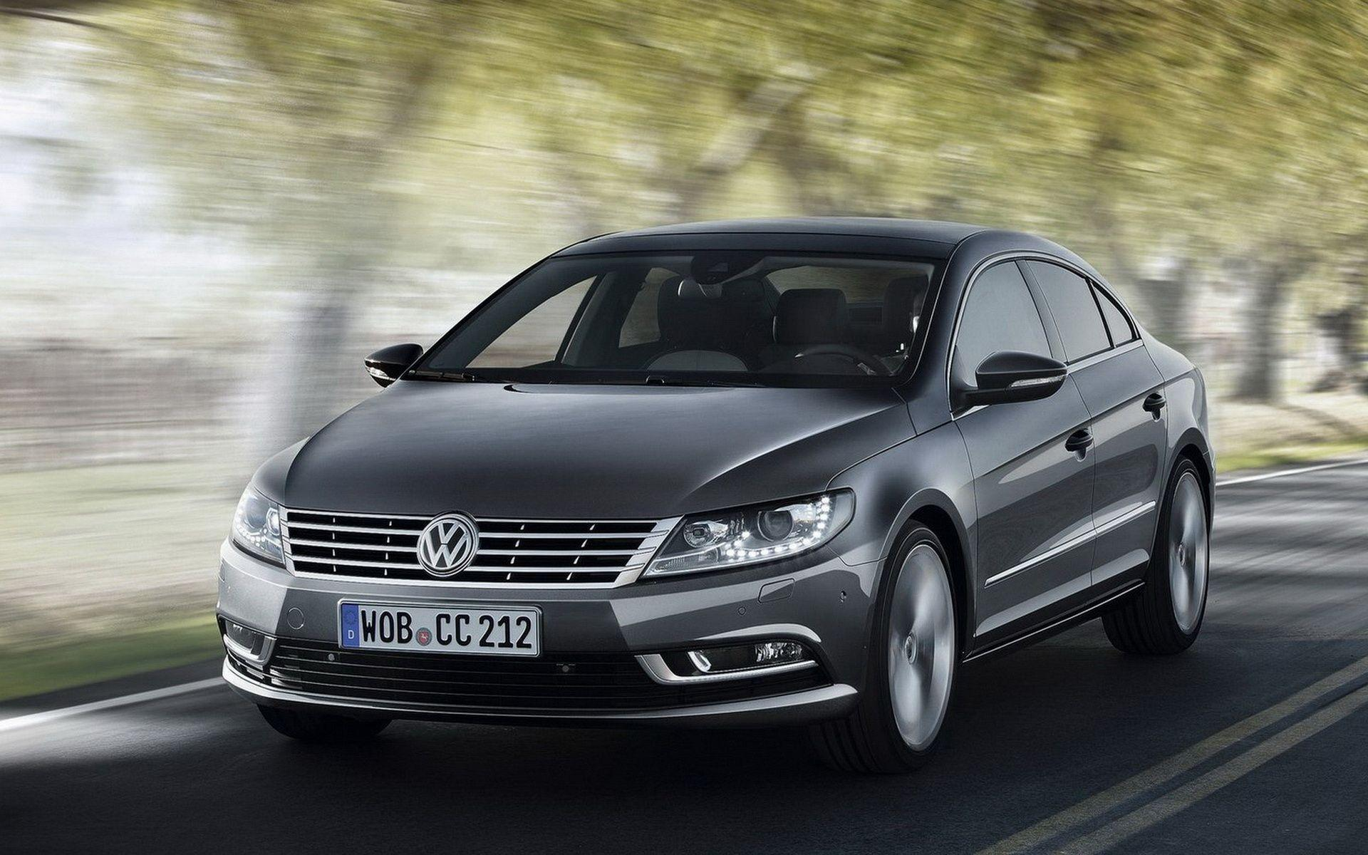 Volkswagen-Passat CC in motion wallpapers and images - wallpapers ...