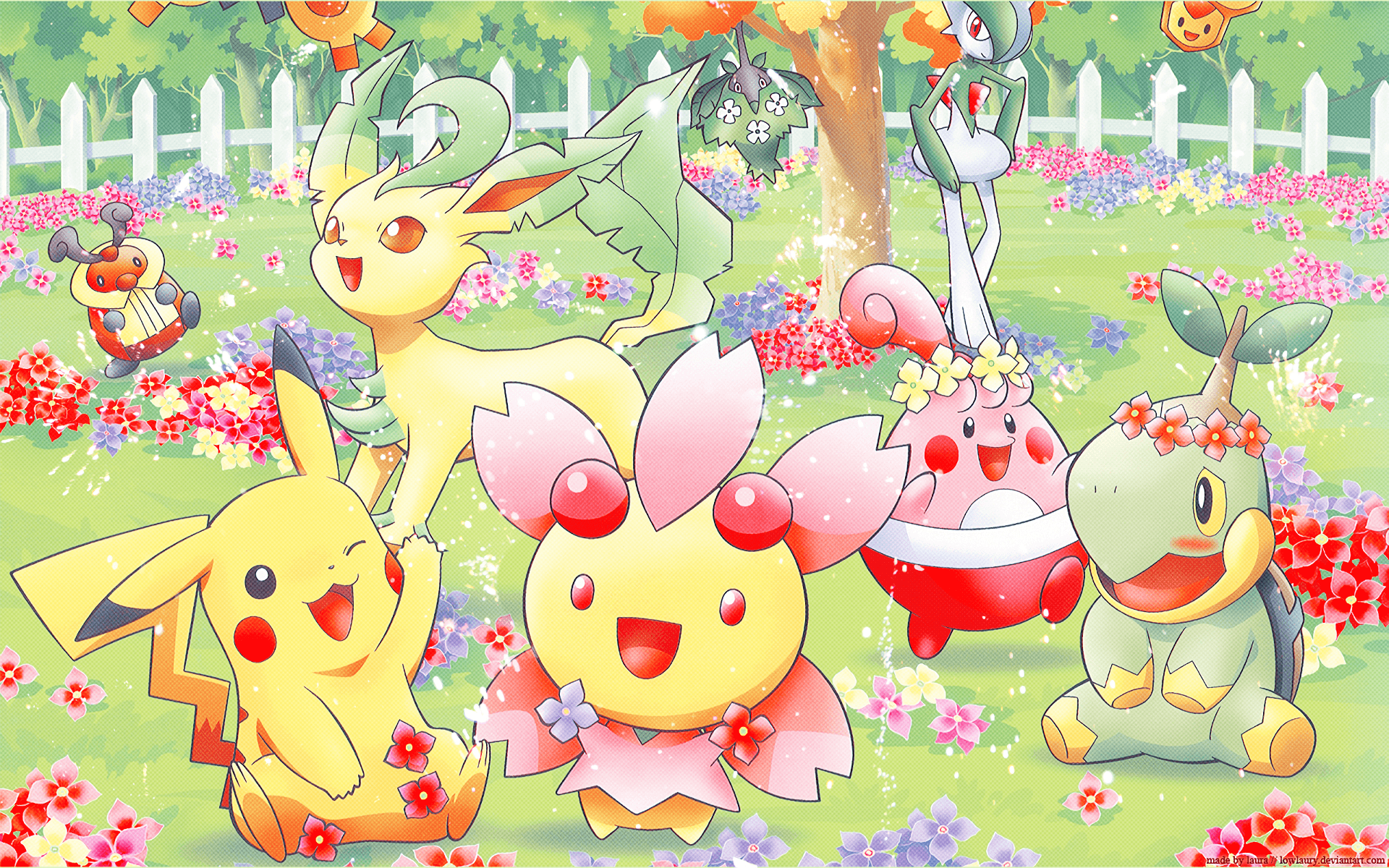 Pokémon Spring Full HD Wallpaper and Background Image | 1920x1200 ...
