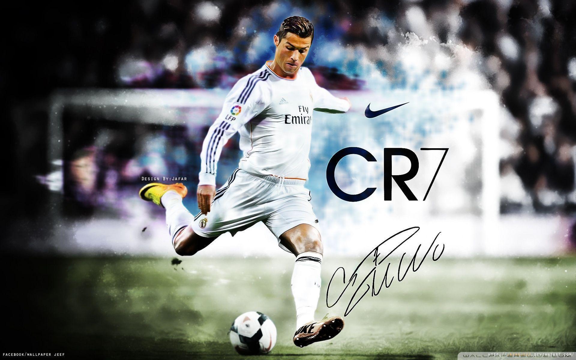Cristiano Ronaldo Real Madrid Wallpapers Wallpaper Cave