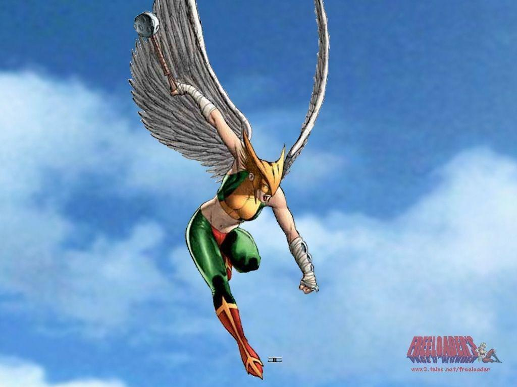 HawkGirl is my favorite comic book character ever!!!!! EVER ...
