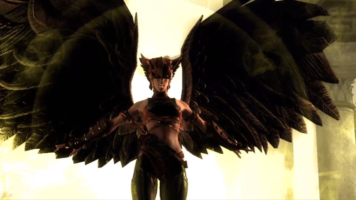 Injustice Gods Among Us Hawkgirl Y Sinestro Gamers Retail 1366x768 ...