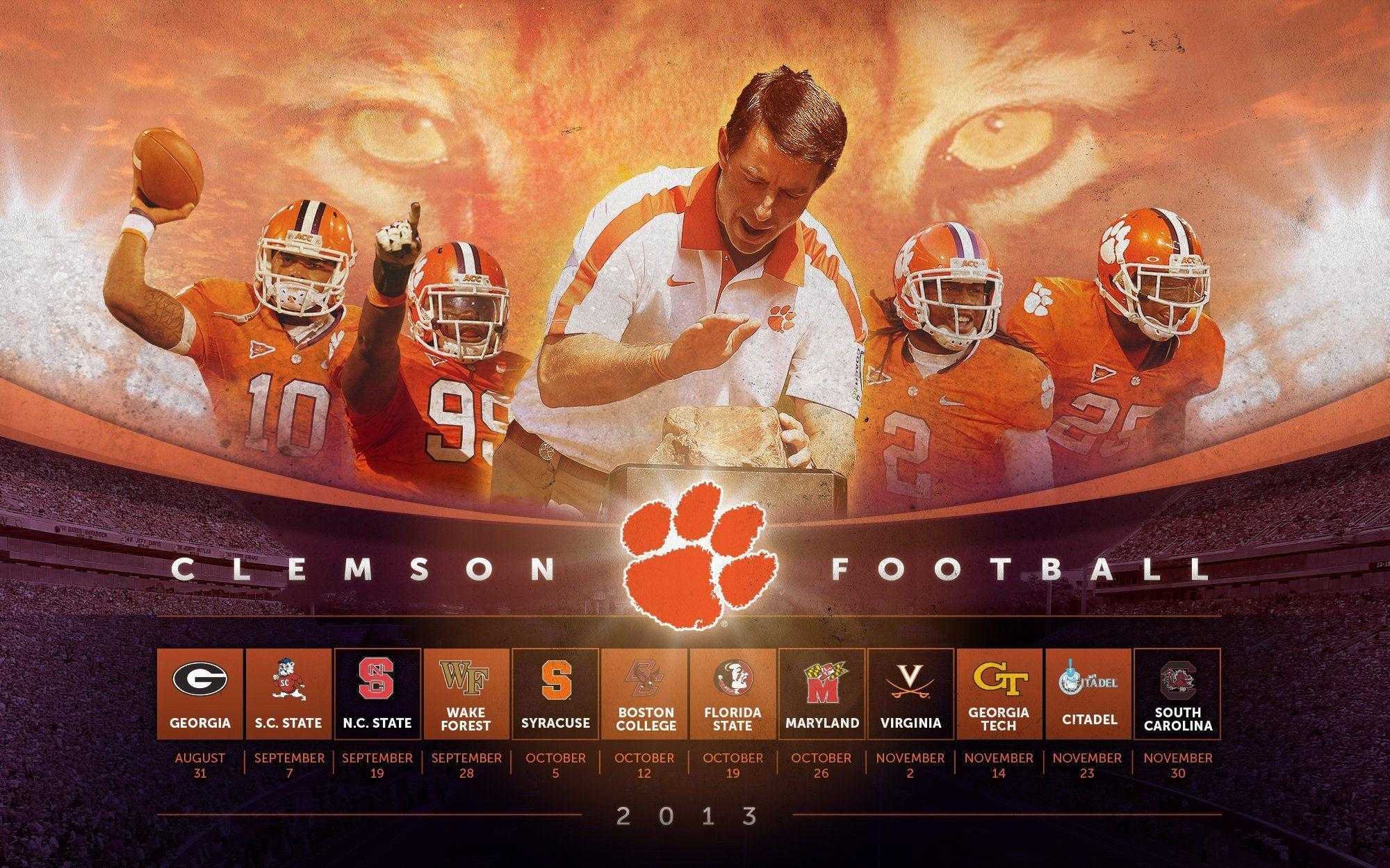 clemson tigers wallpaper - photo #13