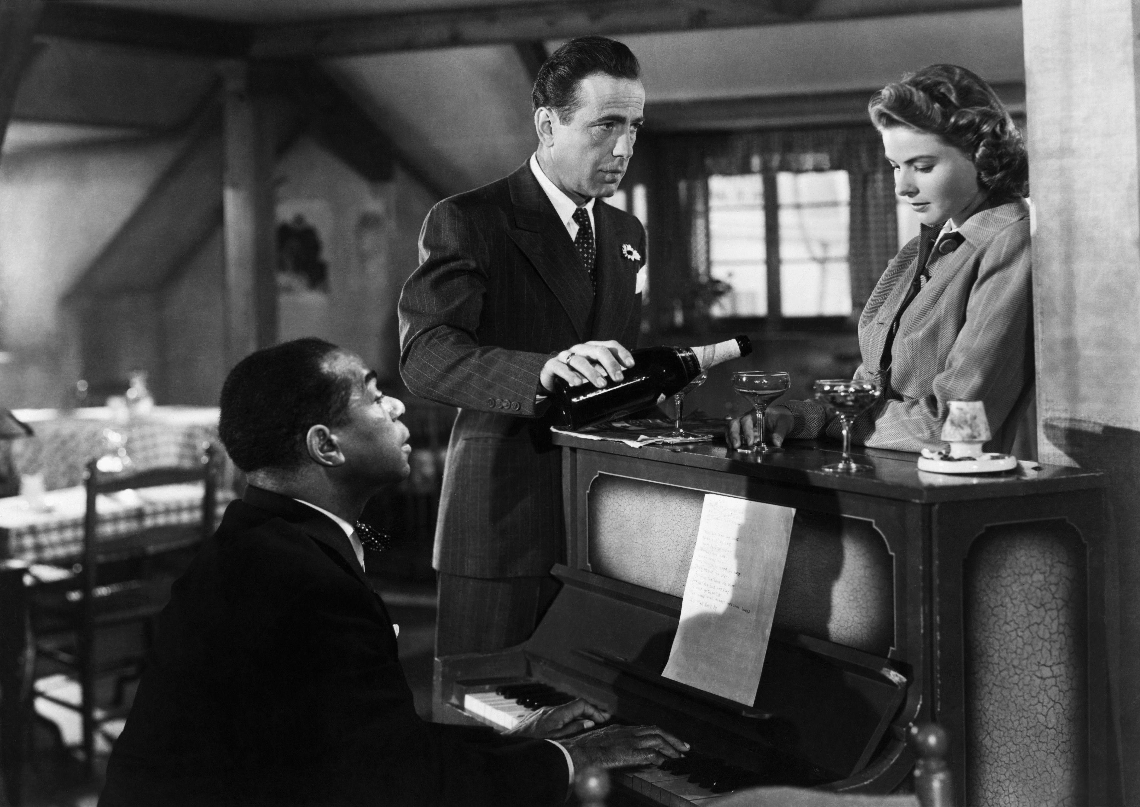 A still from award winning movie Casablanca