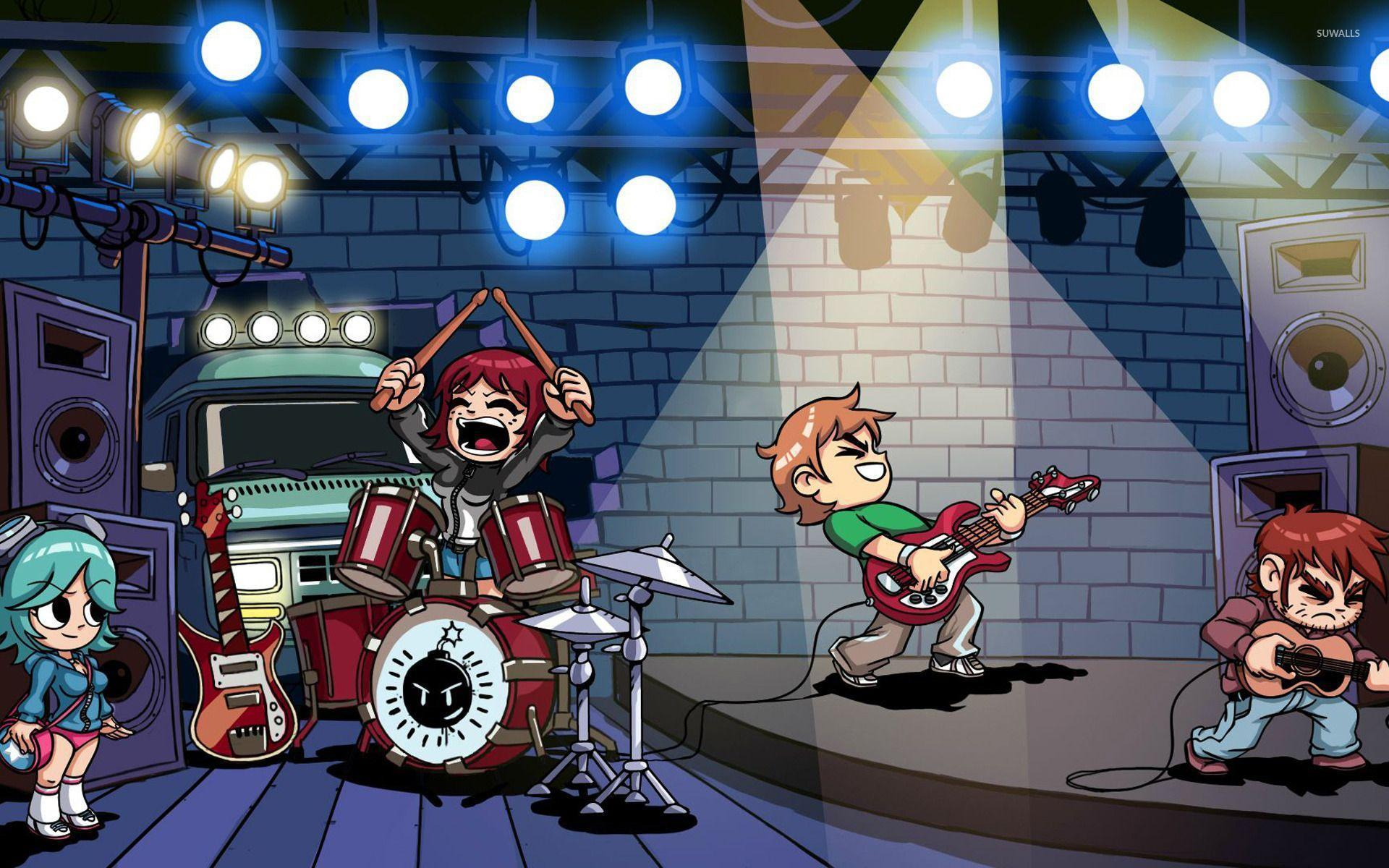 Scott Pilgrim The Game Wallpapers - Wallpaper Cave
