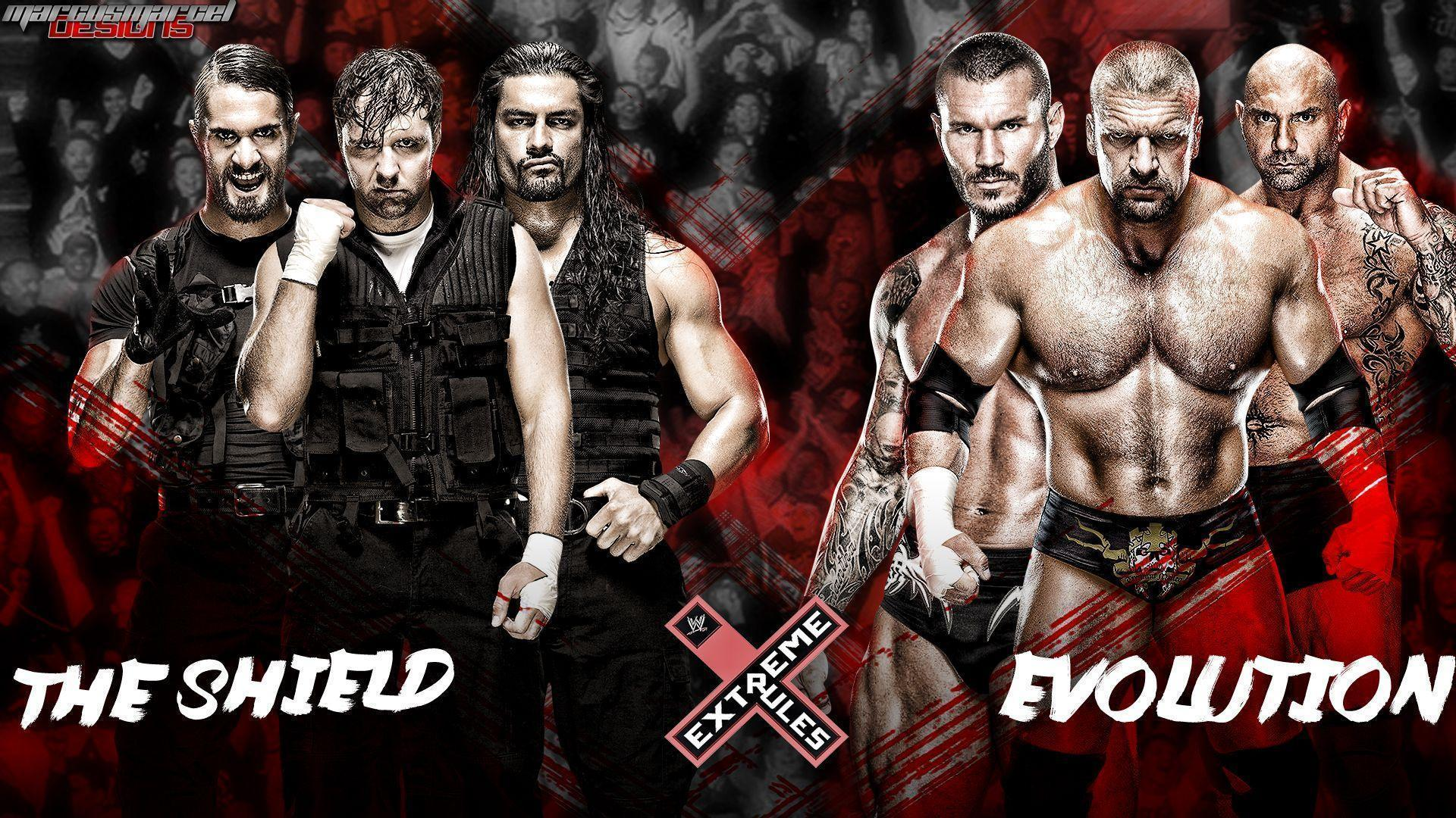WWE The Shield Wallpapers