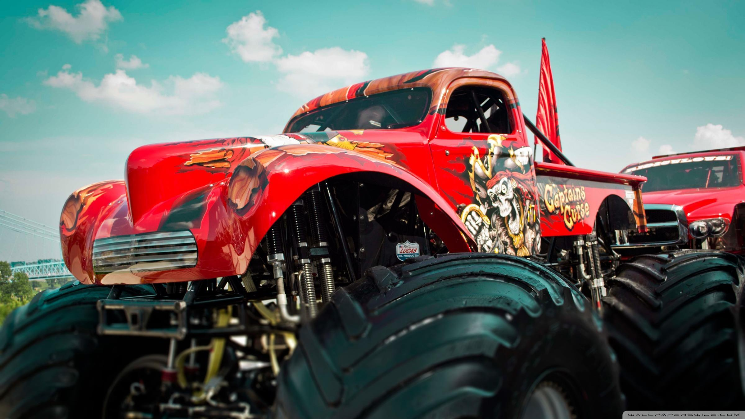 Monster Truck ❤ 4K HD Desktop Wallpaper for 4K Ultra HD TV • Wide ...