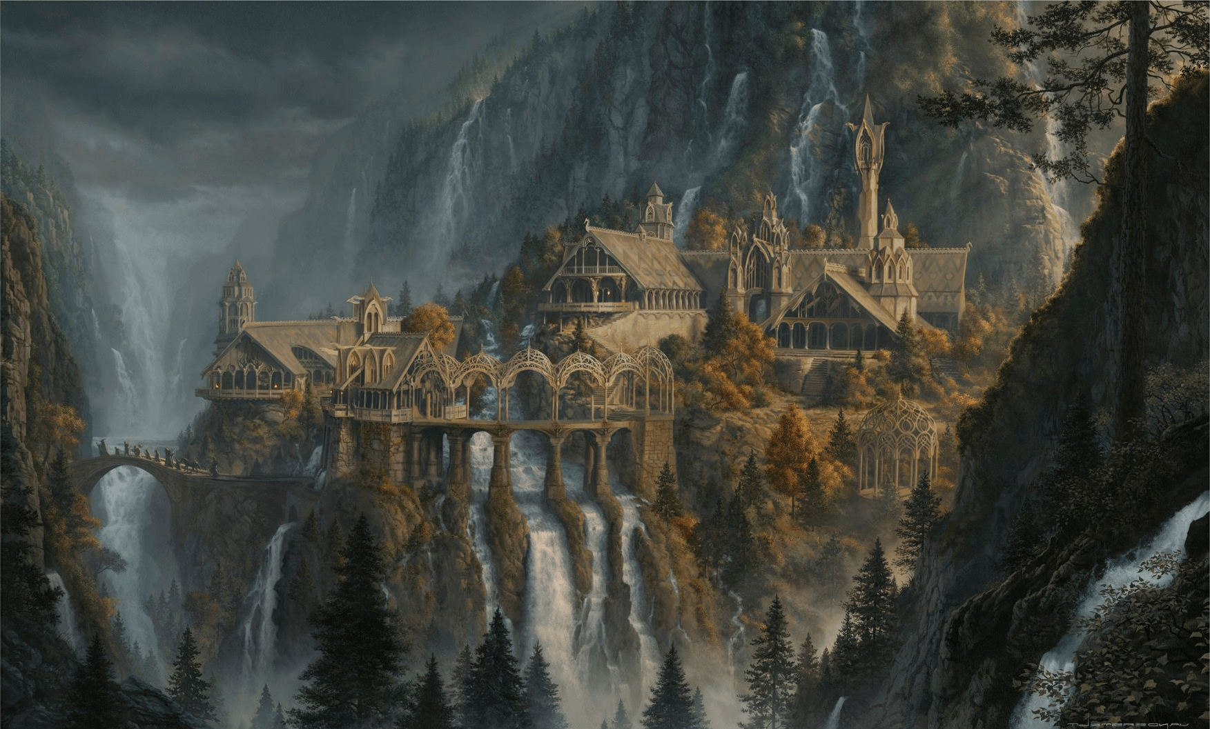 rivendell wallpaper -#main