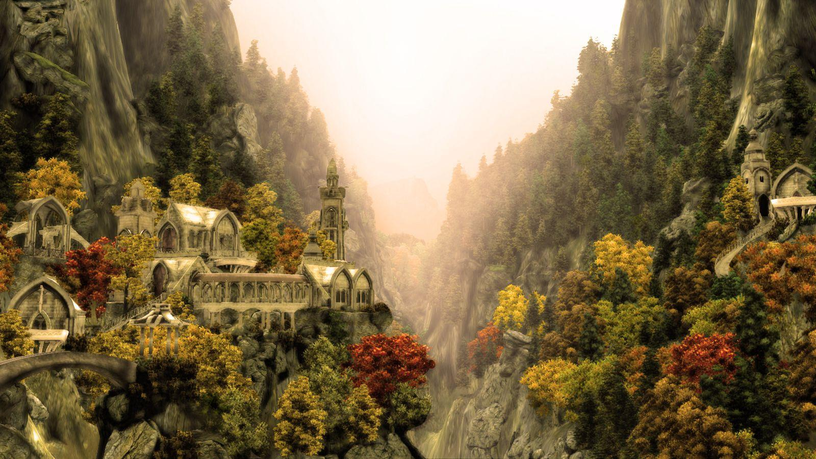 rivendell wallpaper-#2