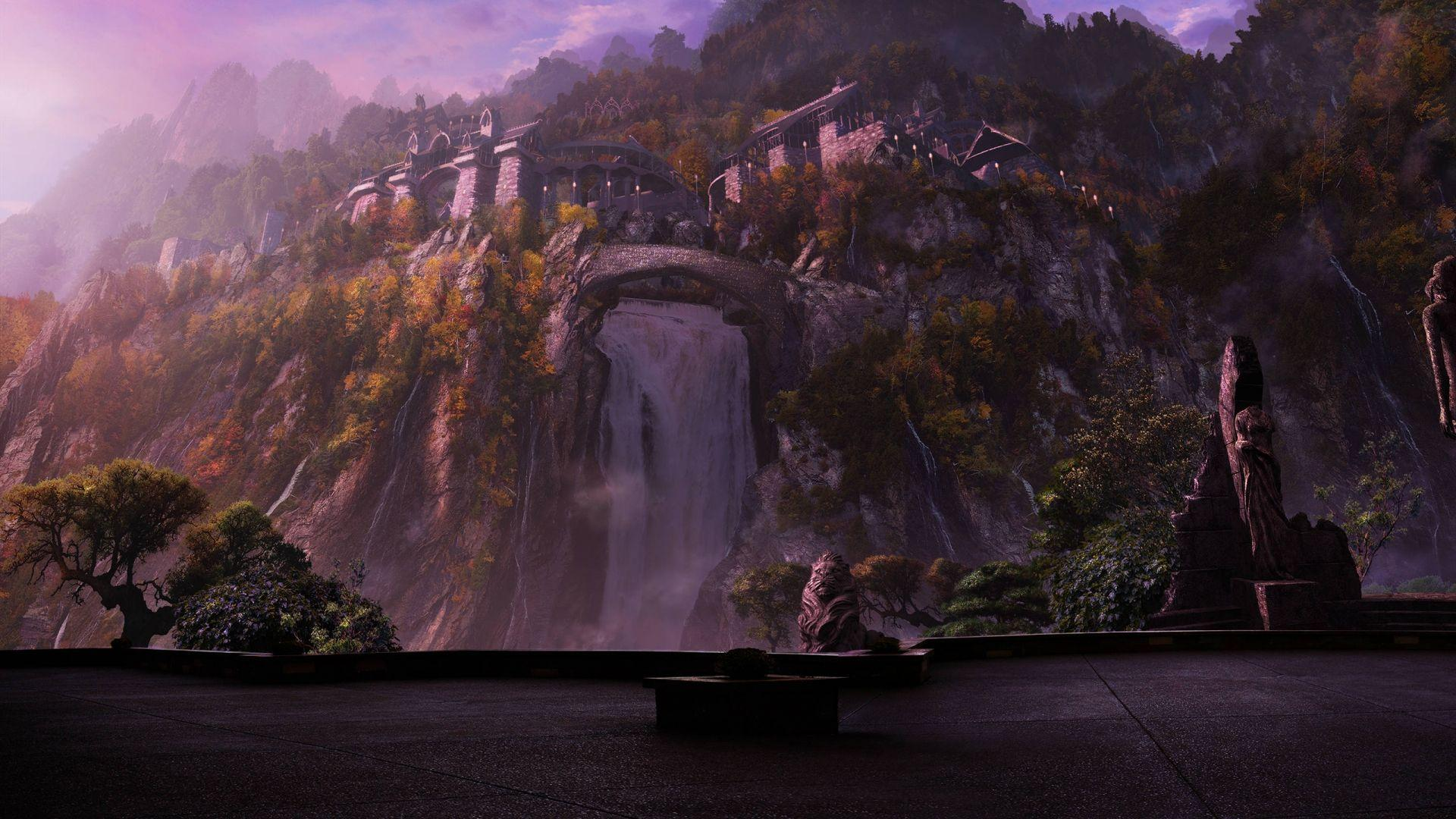 rivendell wallpaper-#7