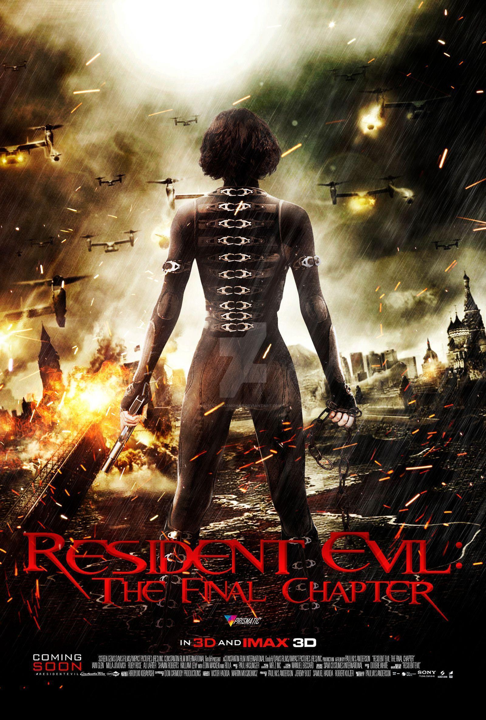 Resident Evil The Final Chapter Wallpapers Wallpaper Cave