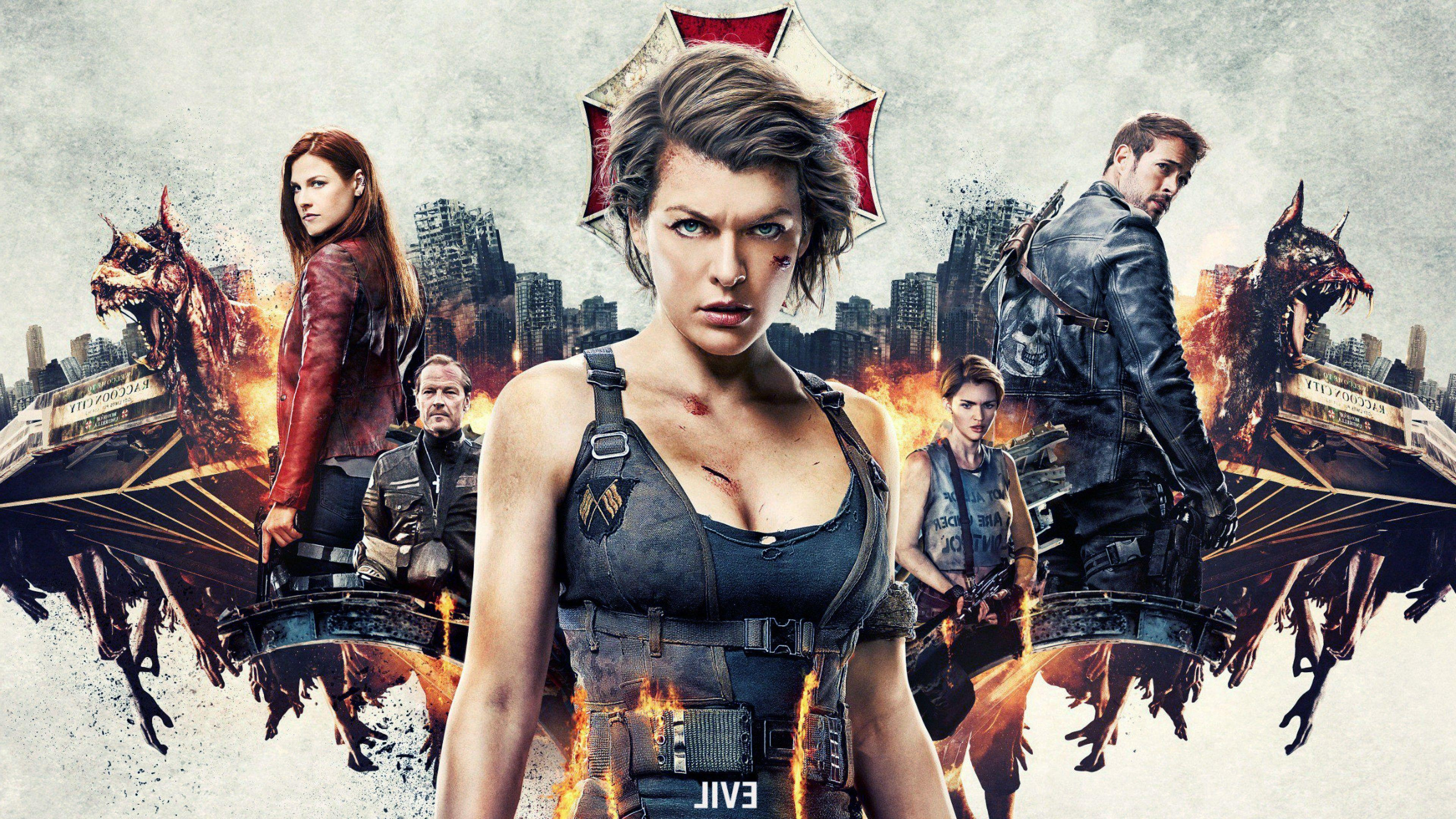 Resident Evil The Final Chapter 2016 Movie Hd Wallpaper: Resident Evil: The Final Chapter Wallpapers