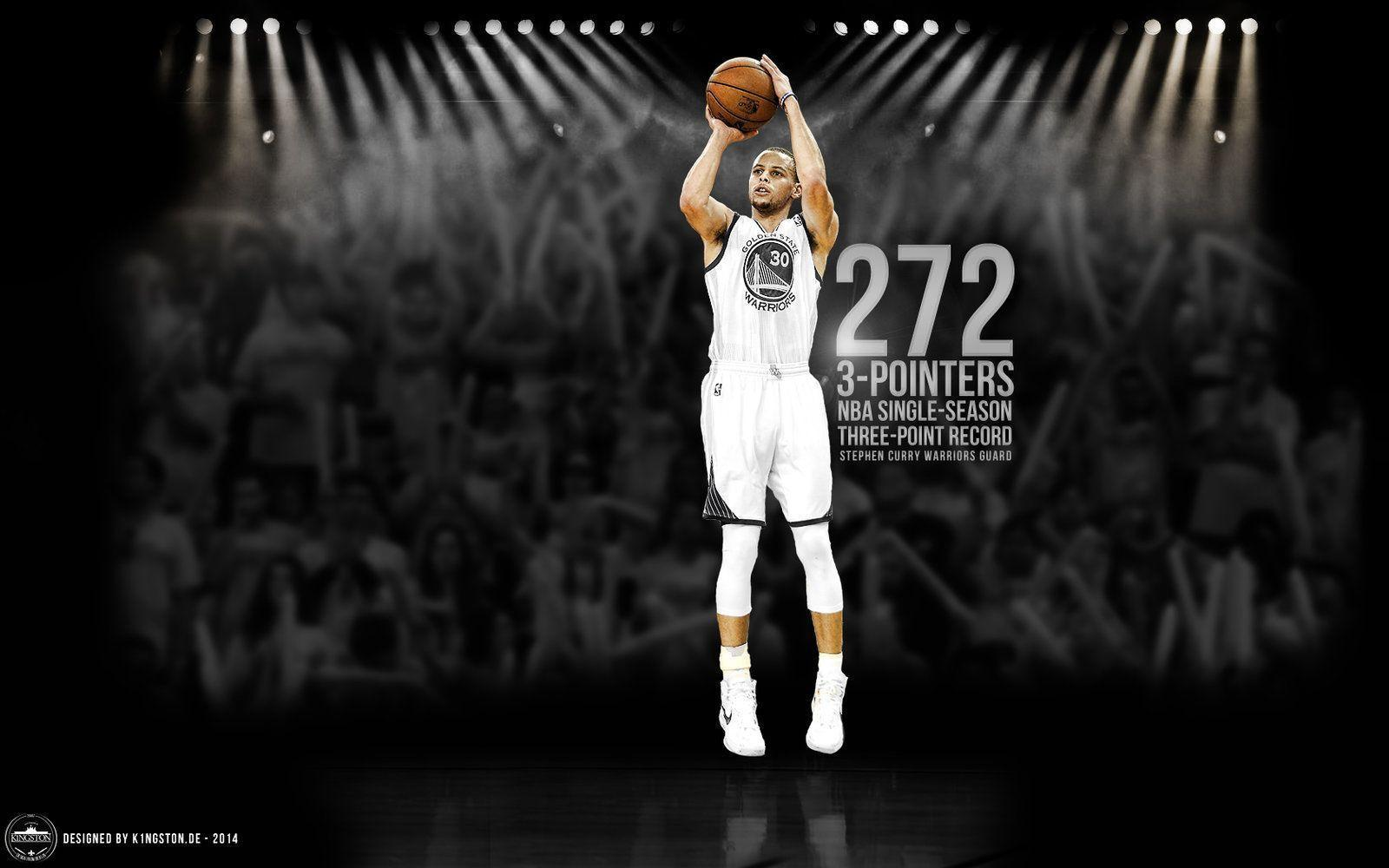 Stephen curry 3 points nba record | stephen curry wallpaper ...