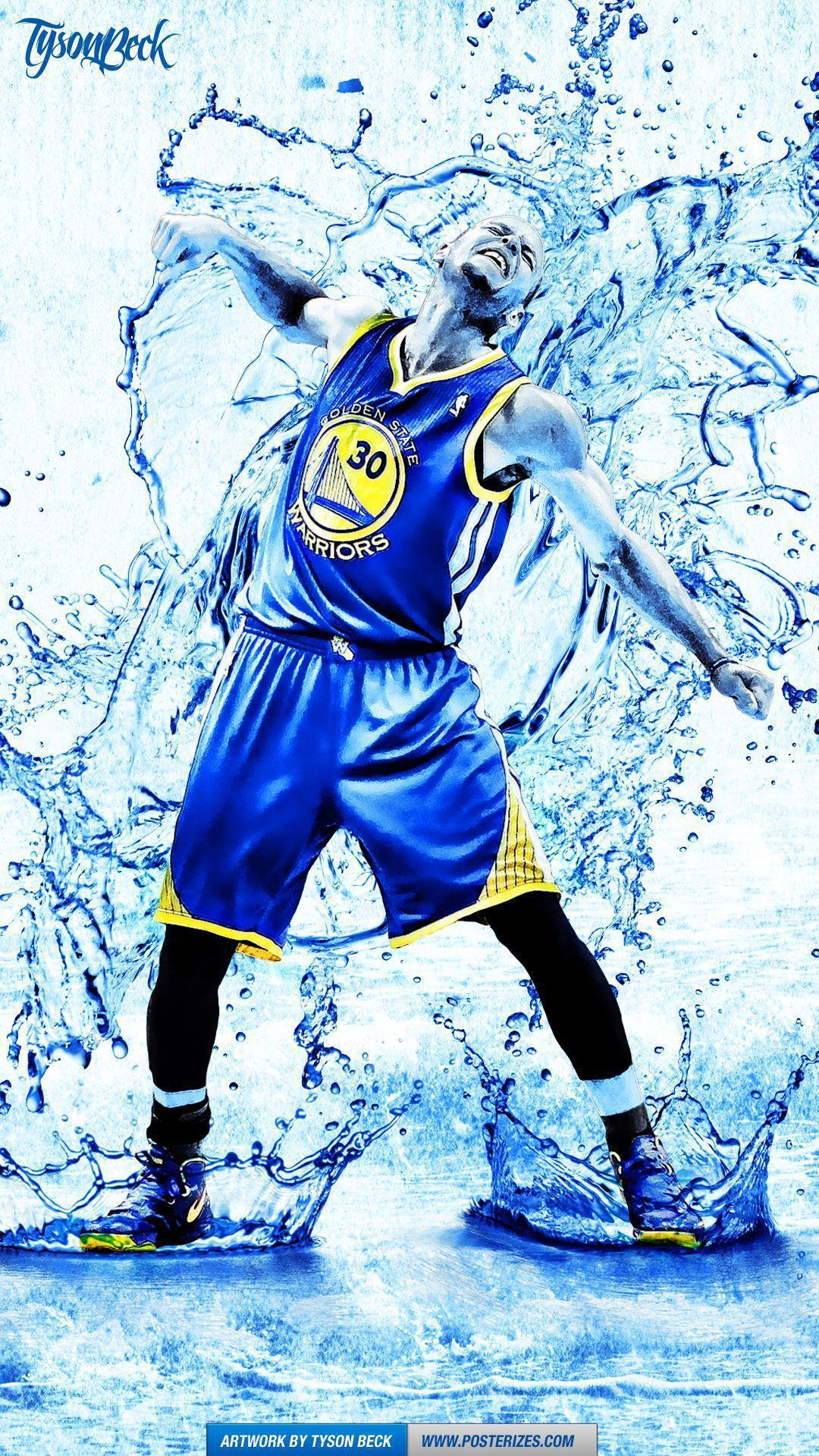 Stephen Curry \'Splash\' Wallpaper | Posterizes | NBA Wallpapers ...