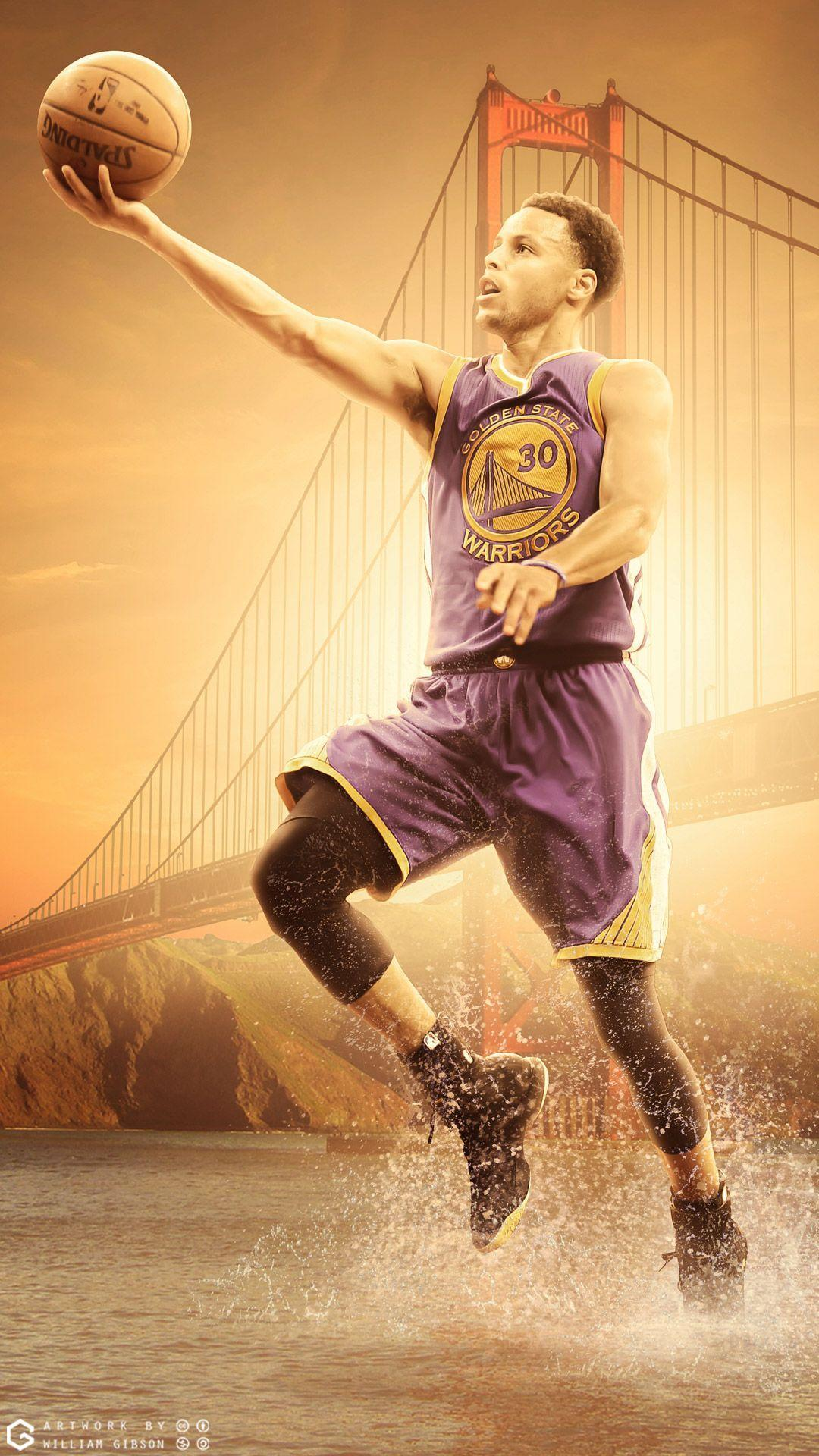 Stephen Curry Warriors Mobile Wallpaper | Basketball Wallpapers at ...